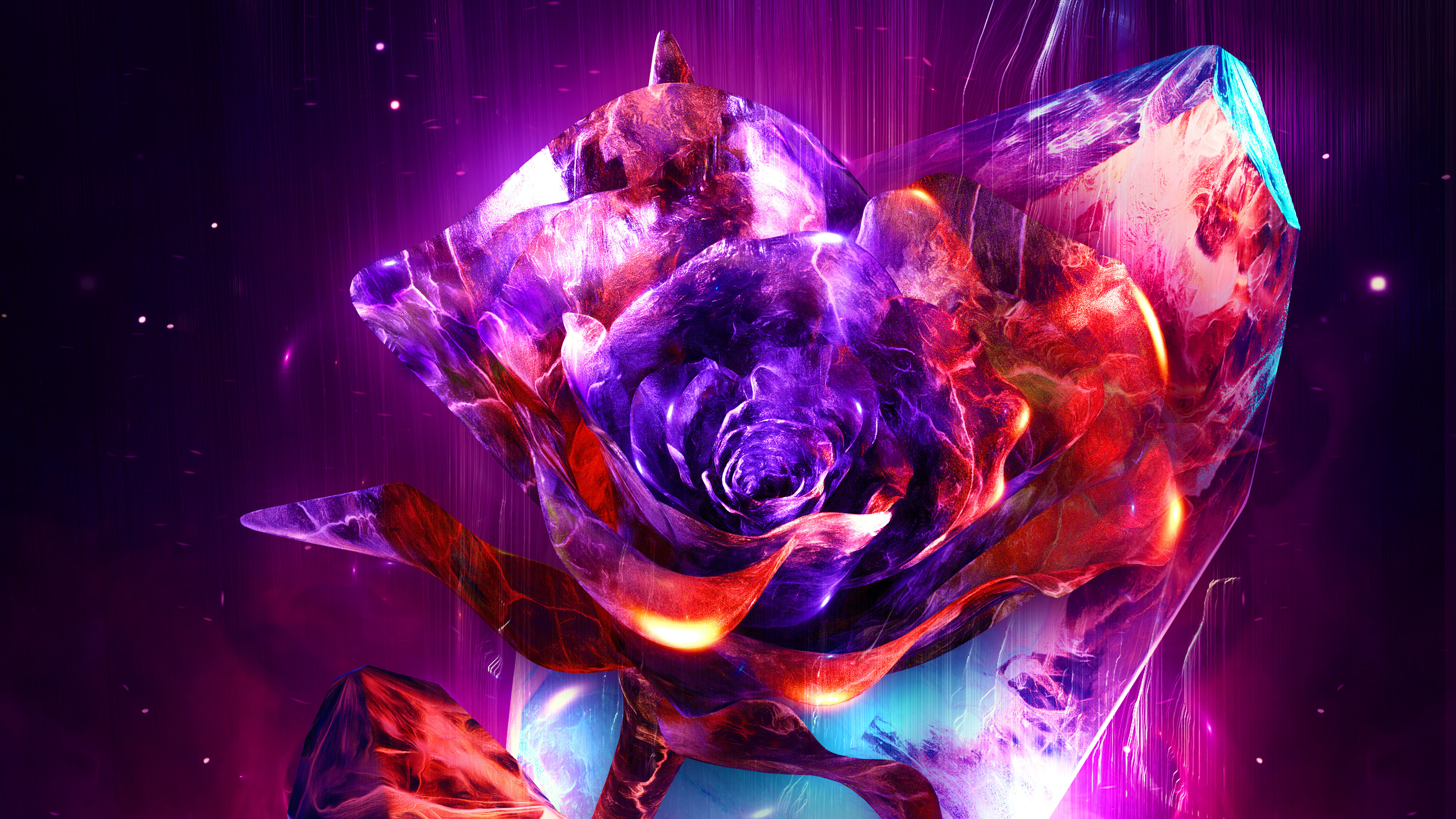rose abstract 4k 1539371611 - Rose Abstract 4k - rose wallpapers, hd-wallpapers, digital art wallpapers, behance wallpapers, artwork wallpapers, artist wallpapers, abstract wallpapers, 4k-wallpapers