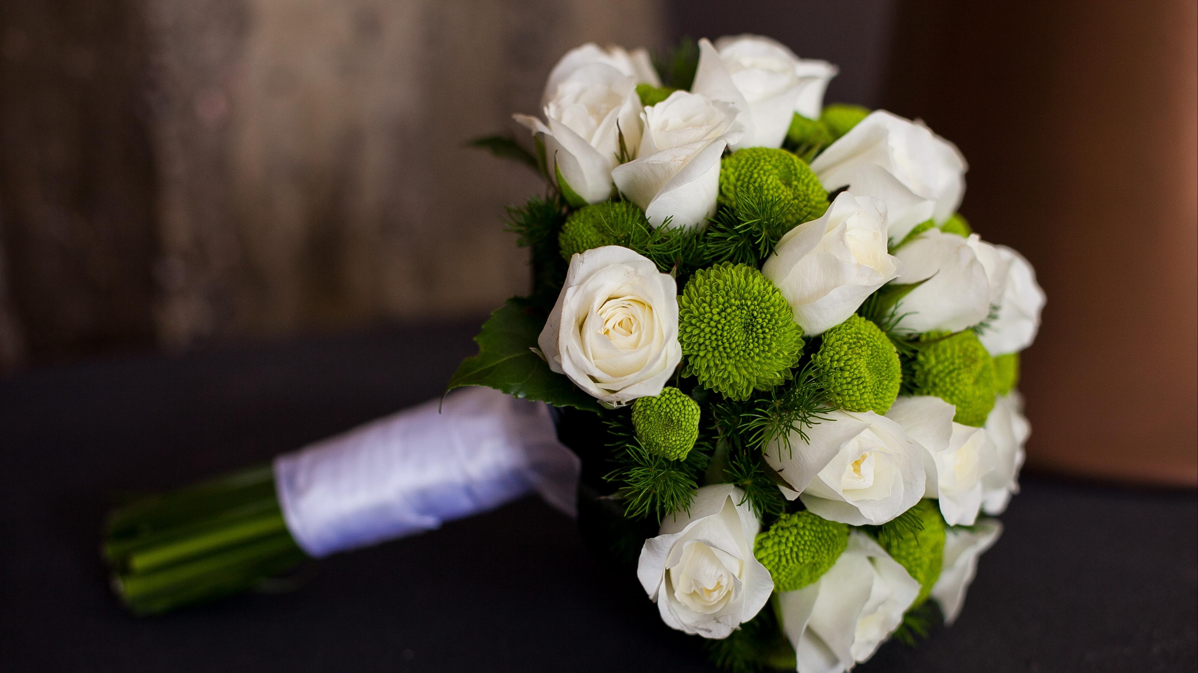 roses flowers bouquet wedding happiness 4k 1540064740 - roses, flowers, bouquet, wedding, happiness 4k - Roses, Flowers, Bouquet