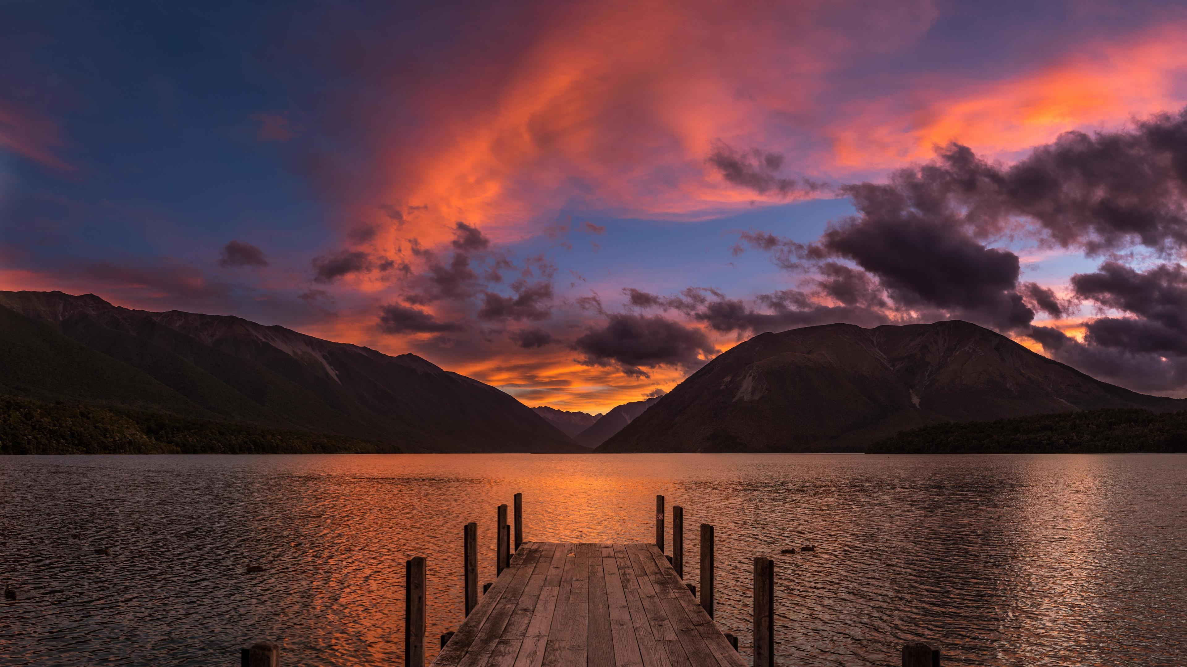 Rotoiti Lake New Zealand 4k new zealand wallpapers, nature ...