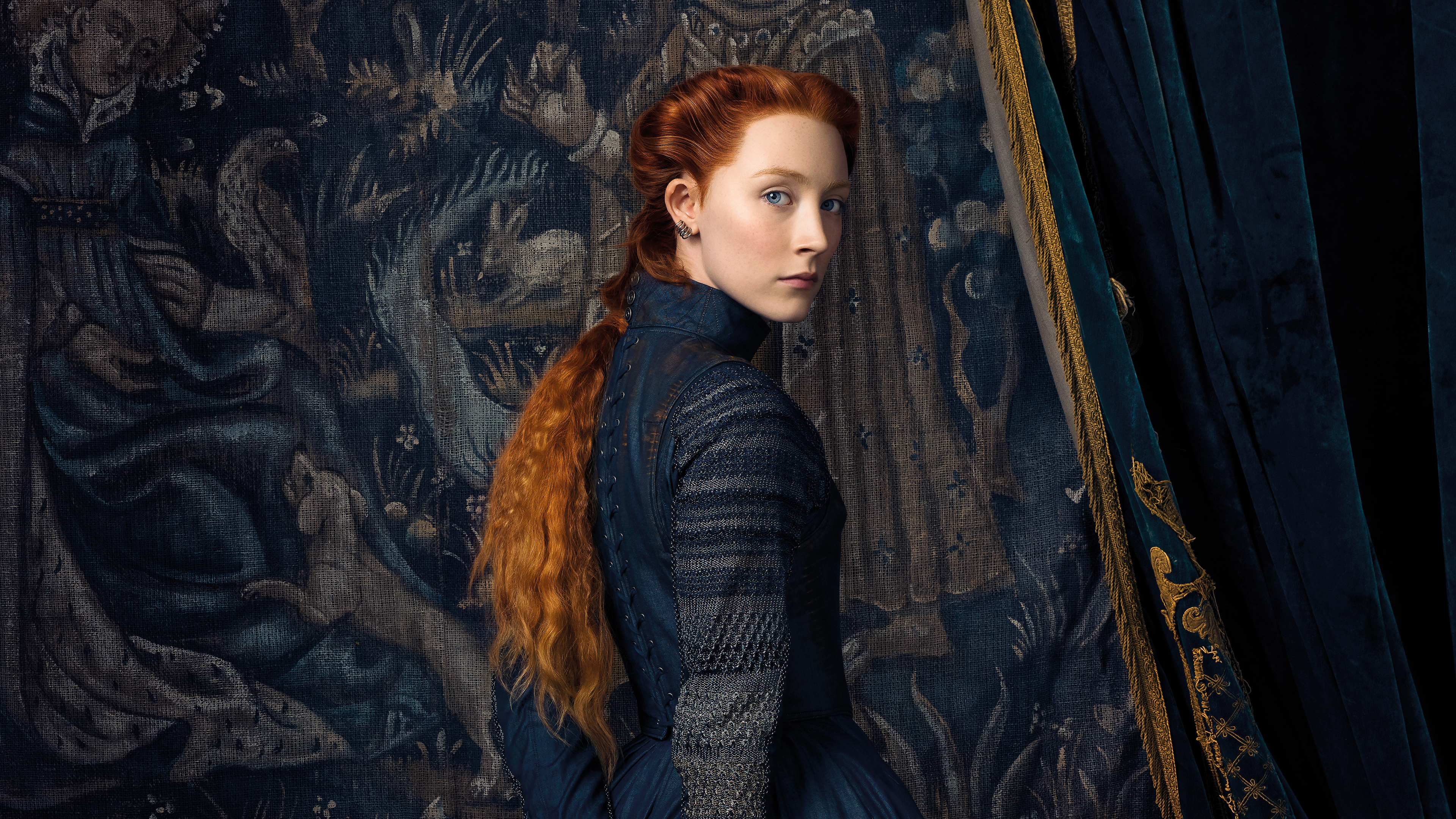 Wallpaper 4k Saoirse Ronan As Mary In Mary Queen Of Scots Movie 5k