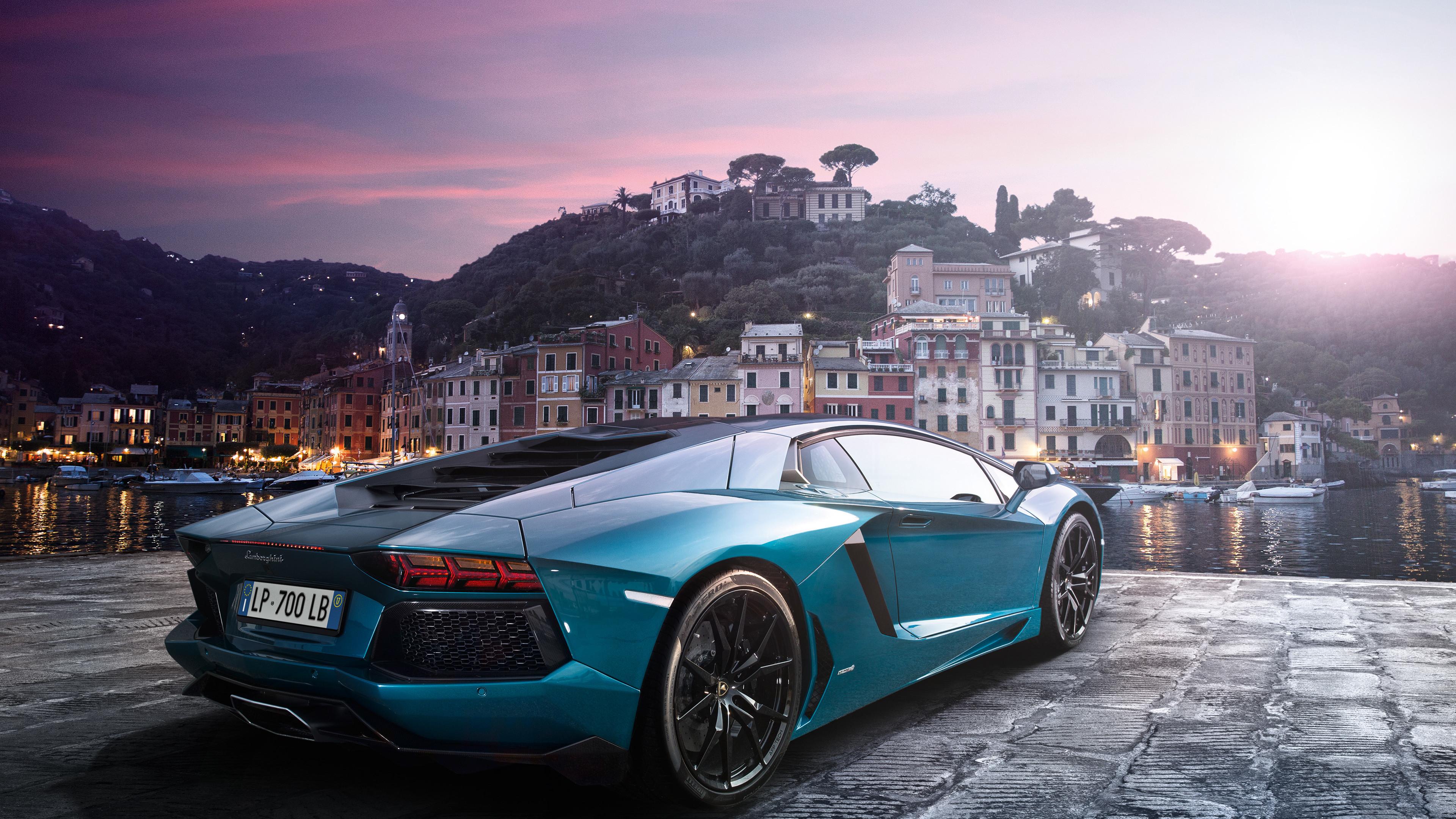 Lamborghini Aventador Green 4k Hd Cars 4k Wallpapers: Sea Green Lamborghini Aventador 4k Lamborghini Wallpapers