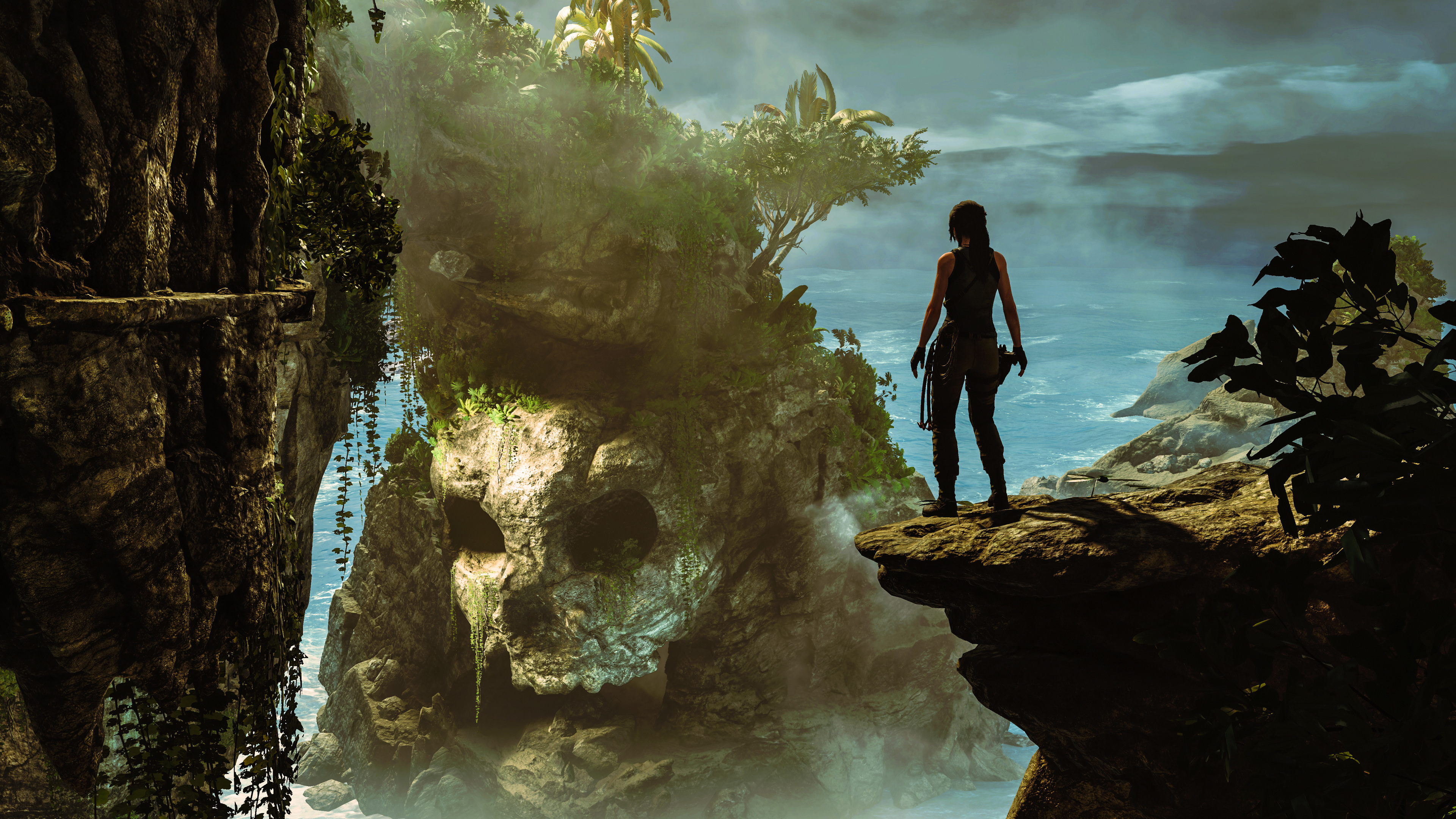 Wallpaper 4k Shadow Of The Tomb Raider 2018 5k 2018 Games