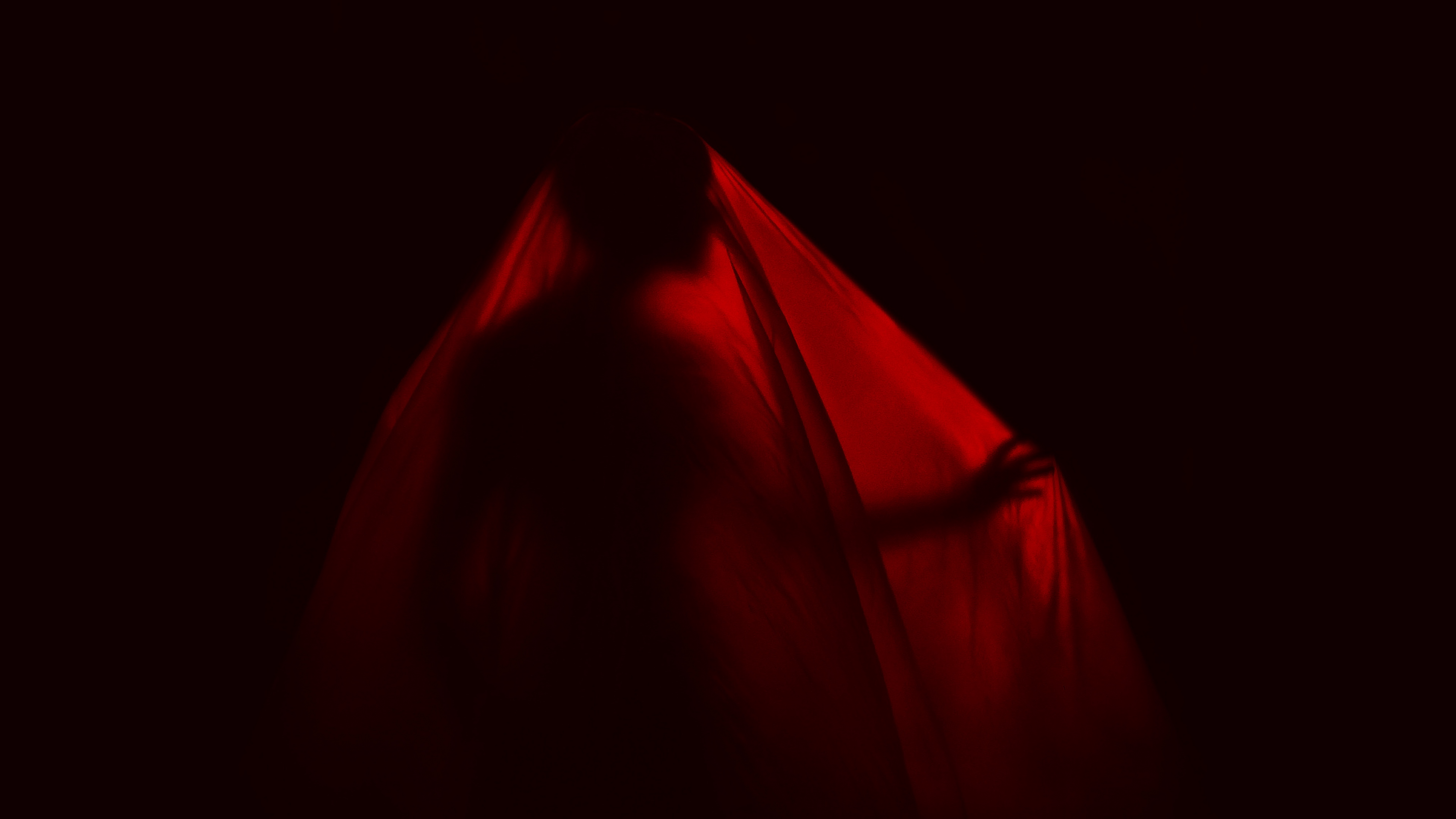 silhouette man fabric dark 4k 1540575237 - silhouette, man, fabric, dark 4k - Silhouette, Man, Fabric