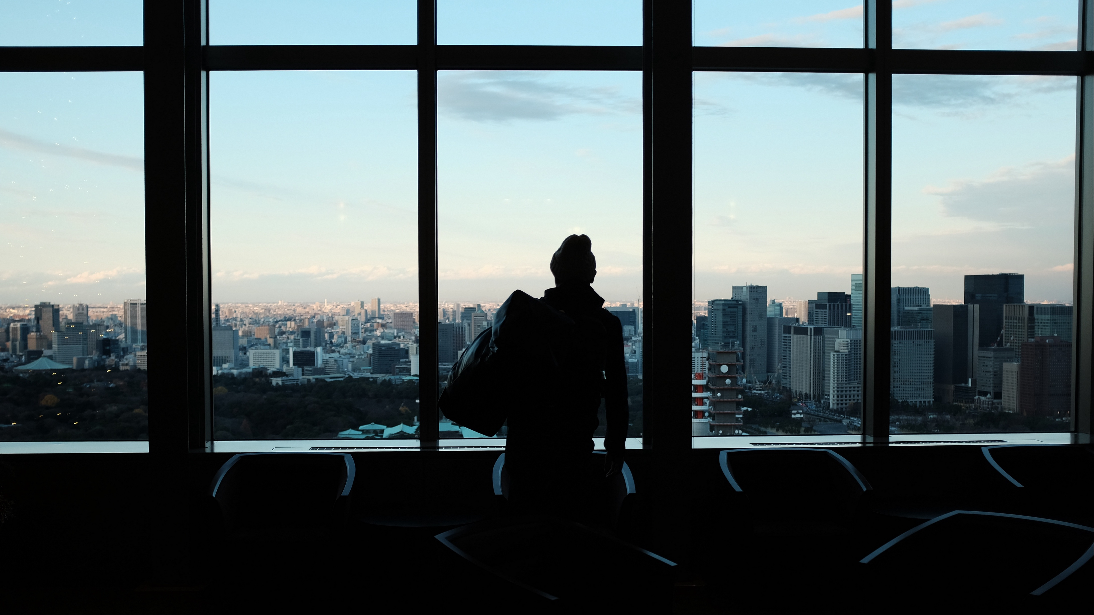 silhouette window city 4k 1540574642 - silhouette, window, city 4k - Window, Silhouette, City
