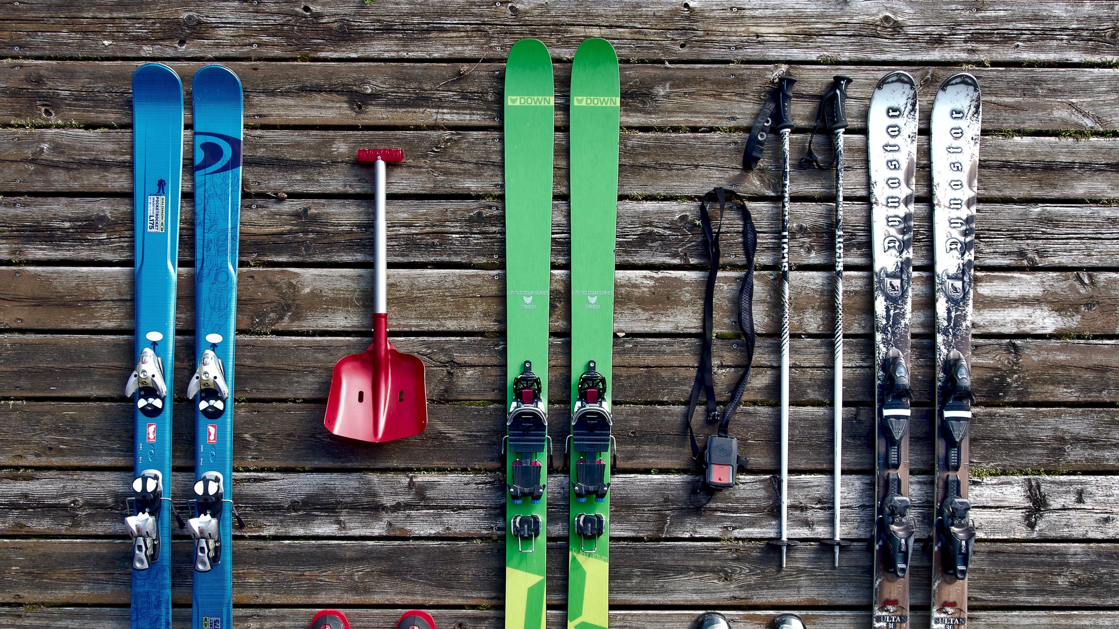 skis equipment boots 4k 1540063177 - skis, equipment, boots 4k - skis, equipment, Boots