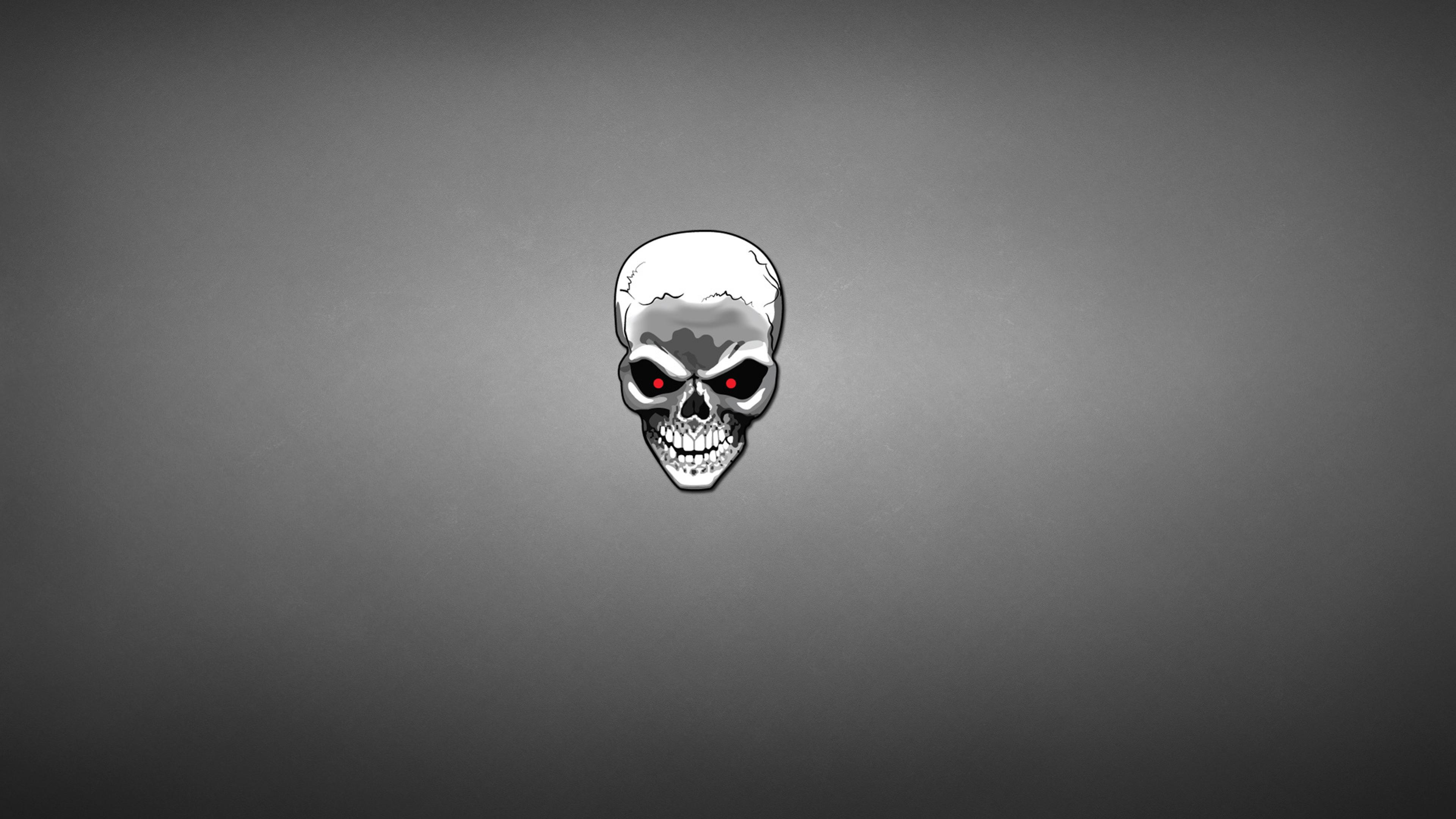 skull art 2 4k 1540748306 - Skull Art 2 4k - skull wallpapers, minimalism wallpapers, digital art wallpapers, artist wallpapers, art wallpapers