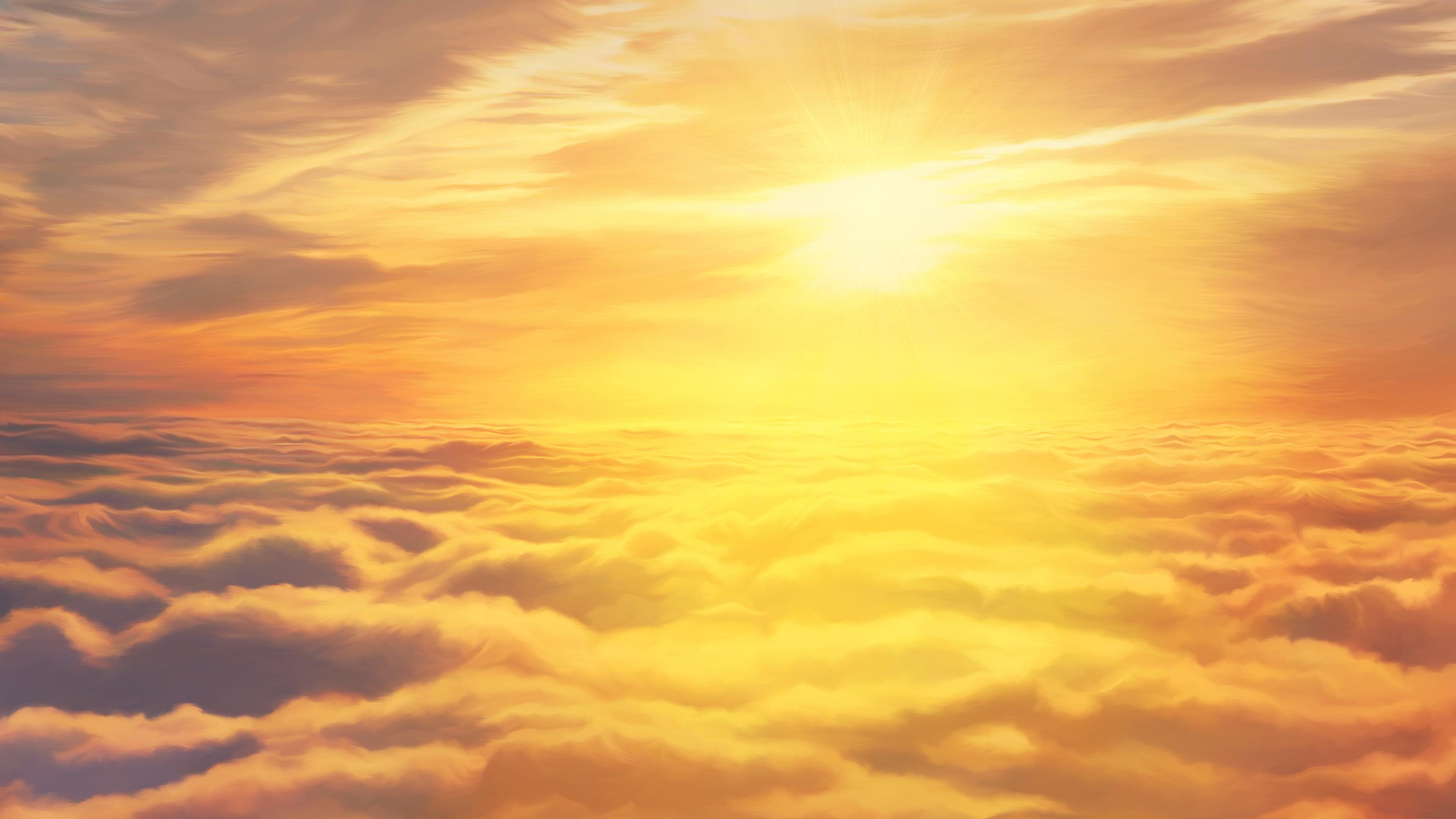 sky sun illustration artwork 4k 1540754369 - Sky Sun Illustration Artwork 4k - sun wallpapers, sky wallpapers, illustration wallpapers, hd-wallpapers, digital art wallpapers, artwork wallpapers, artist wallpapers, 4k-wallpapers