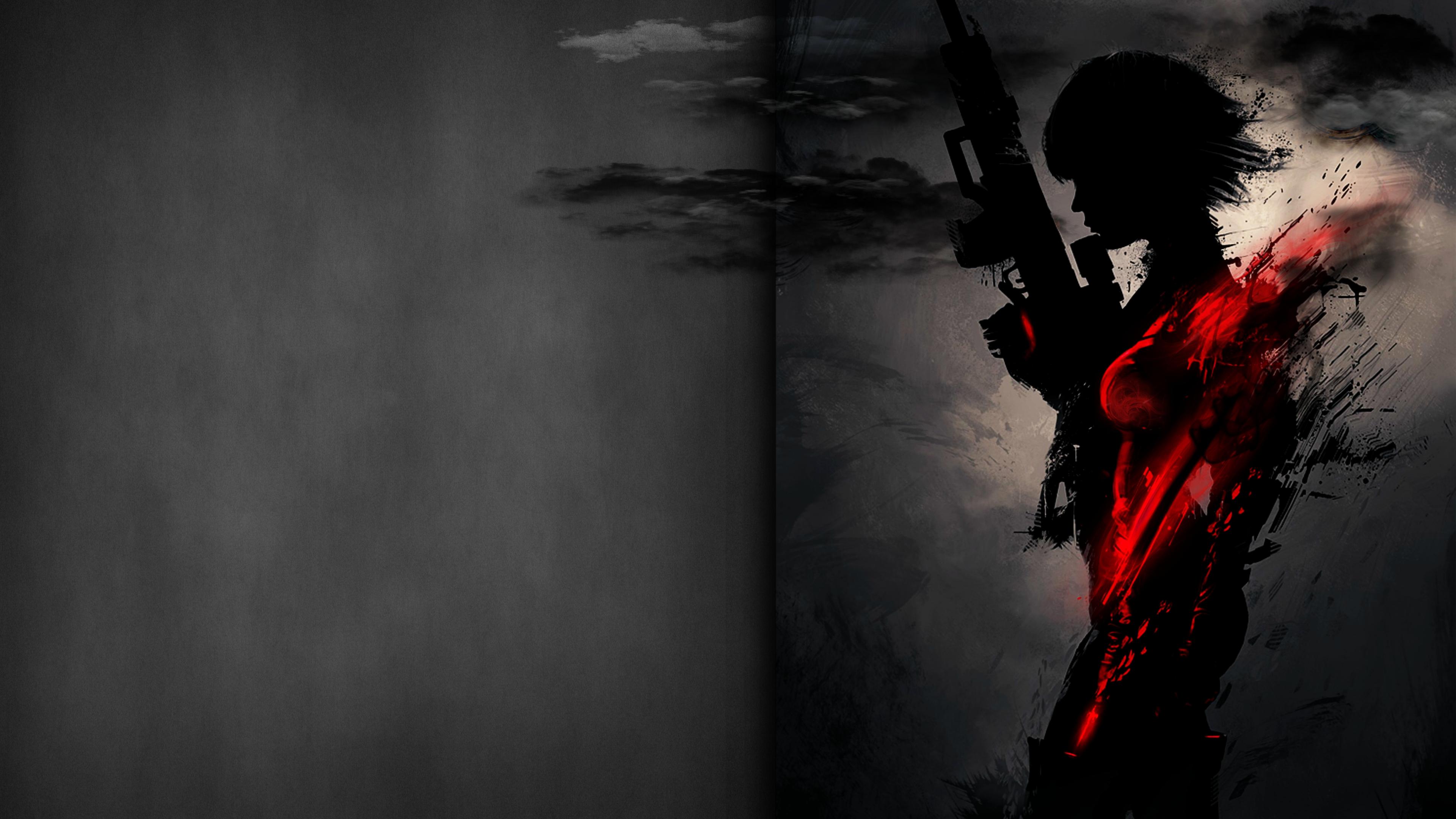 sniper artwork dark red 4k 1540754262 - Sniper Artwork Dark Red 4k - sniper wallpapers, hd-wallpapers, digital art wallpapers, deviantart wallpapers, artwork wallpapers, artist wallpapers, 4k-wallpapers