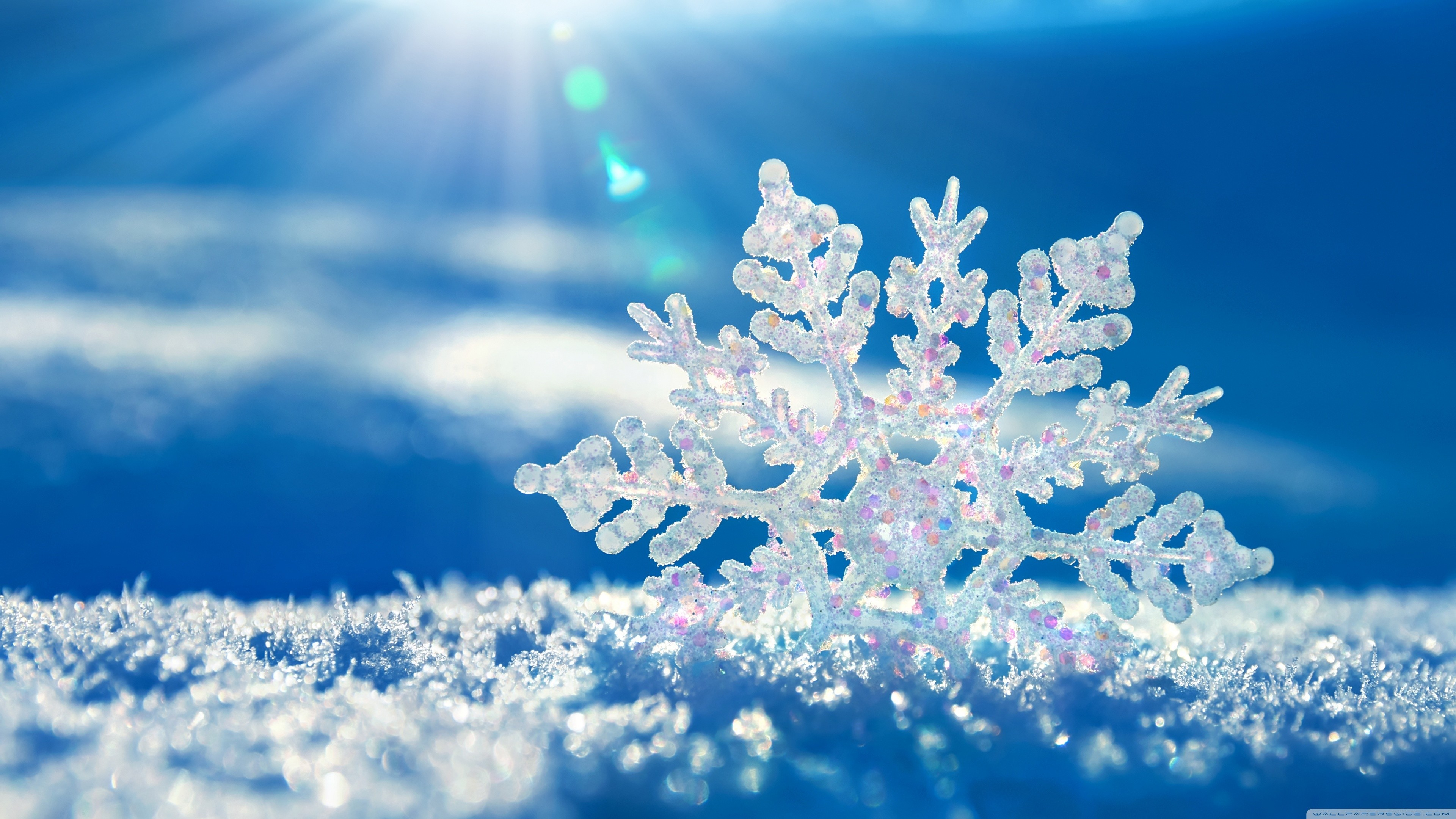snowflakes background 4k 1540131104 - Snowflakes Background 4k - winter wallpapers, snow wallpapers, nature wallpapers, landscape wallpapers, background wallpapers