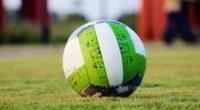 soccer ball grass green 4k 1540061255 200x110 - soccer ball, grass, green 4k - soccer ball, green, Grass