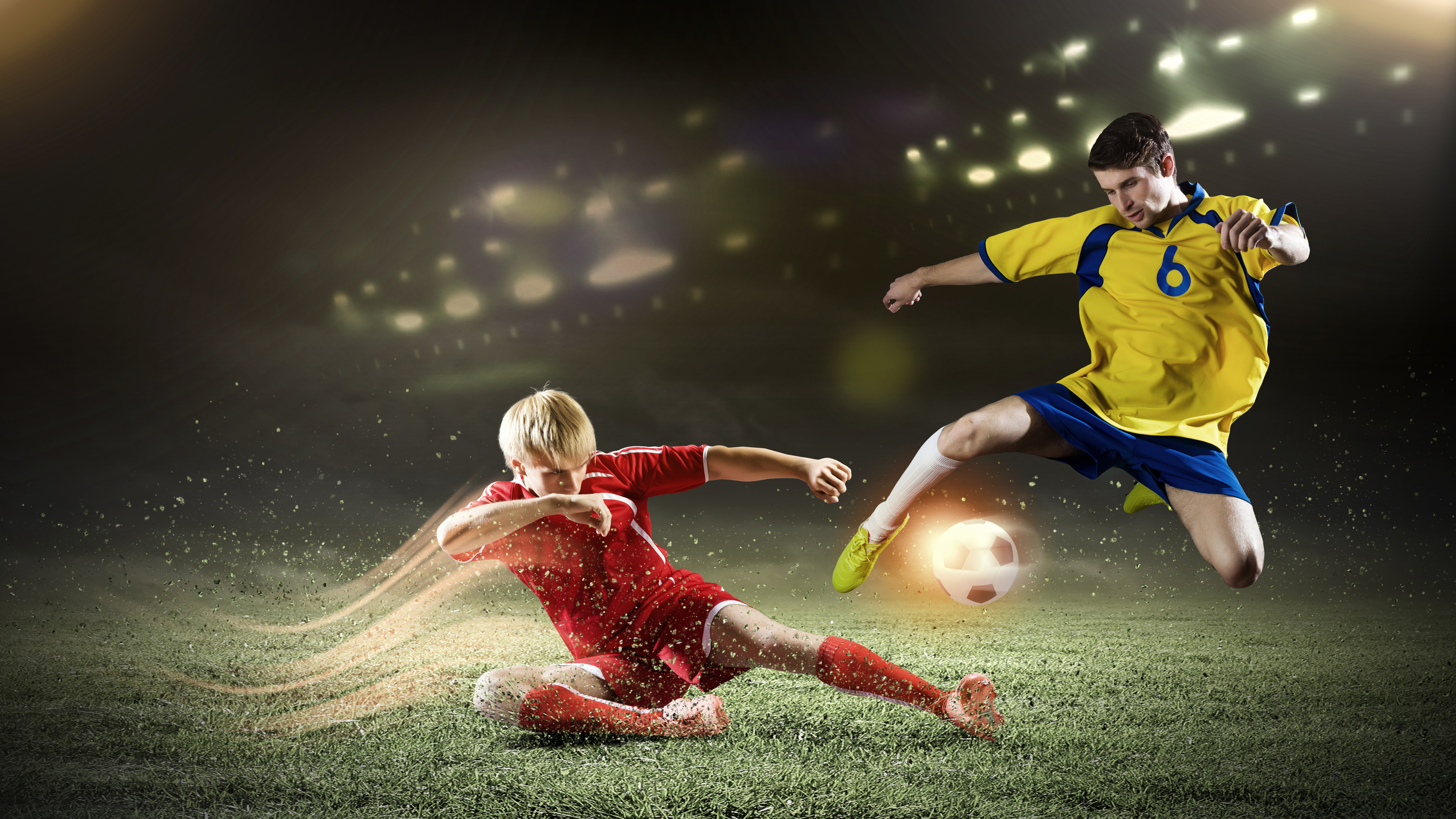 Soccer Players Football 4k Sports Wallpapers, Soccer