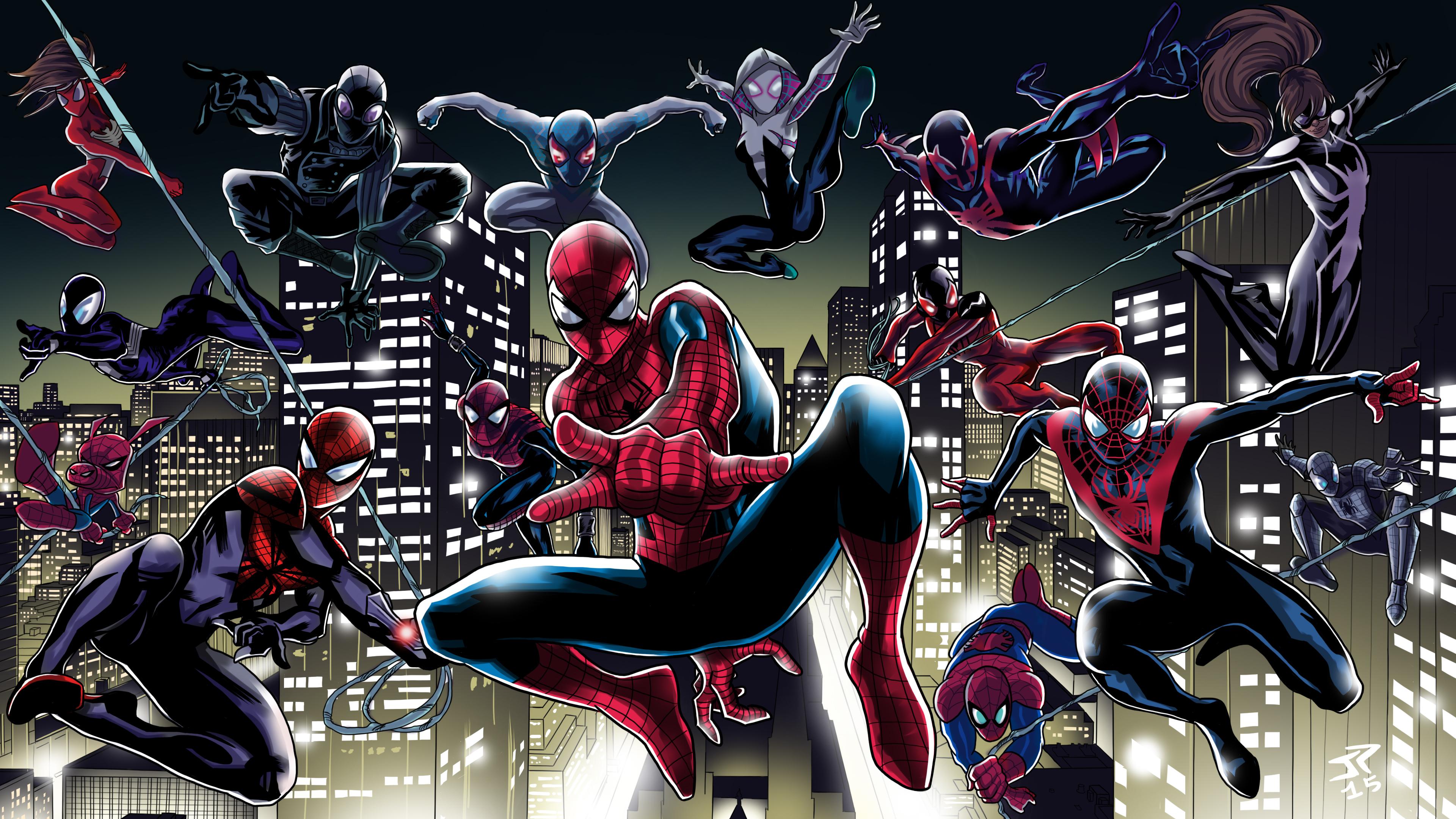 spider verse 1538786505 - Spider Verse - superheroes wallpapers, spiderman wallpapers, hd-wallpapers, digital art wallpapers, deviantart wallpapers, artwork wallpapers, artist wallpapers, 4k-wallpapers