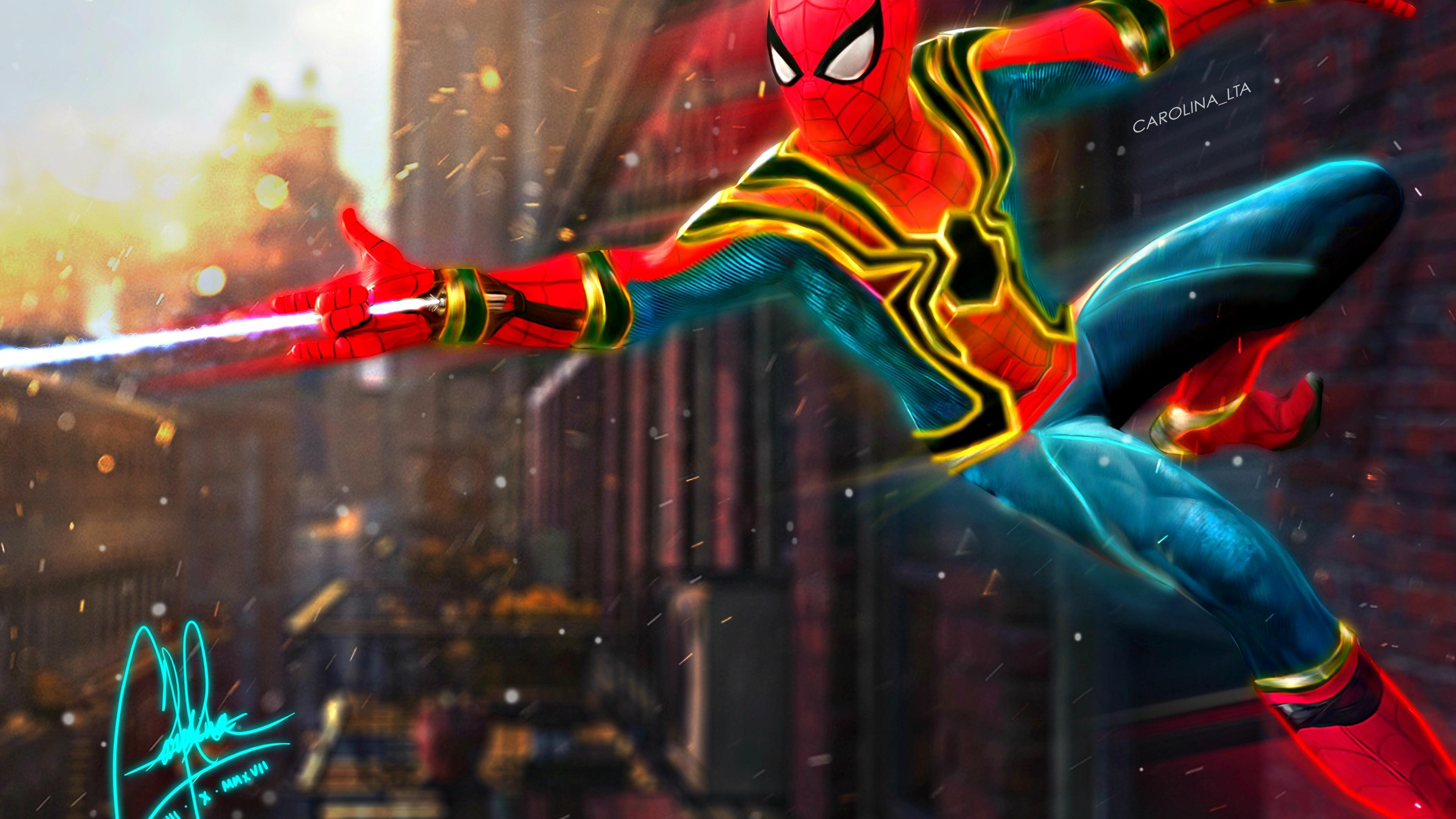spiderman 4k fan art 1538786580 - Spiderman 4k Fan Art - superheroes wallpapers, spiderman wallpapers, hd-wallpapers, digital art wallpapers, behance wallpapers, artwork wallpapers, artist wallpapers, 4k-wallpapers