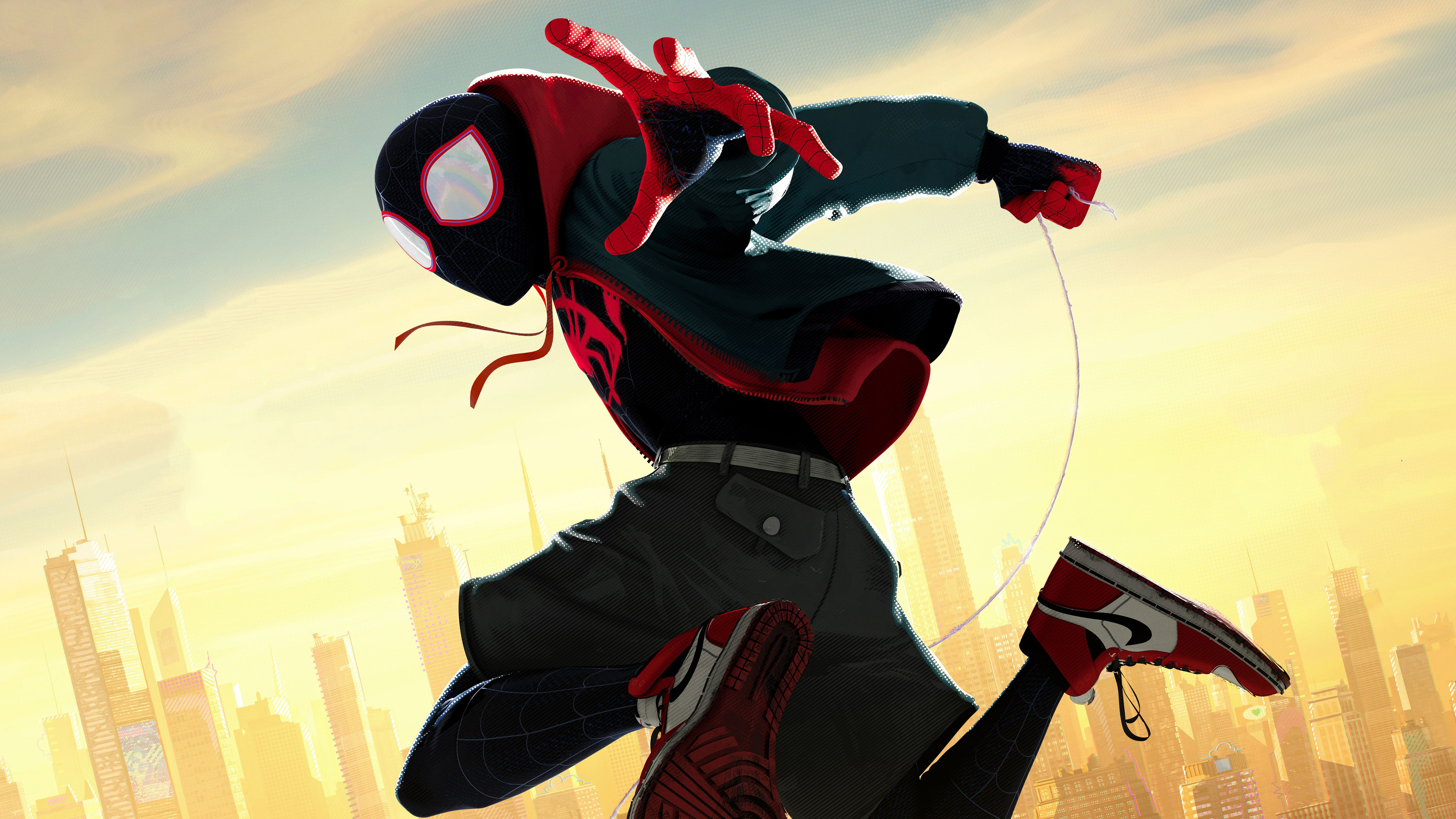 Wallpaper 4k Spiderman Into The Spider Verse Movie 5k Official