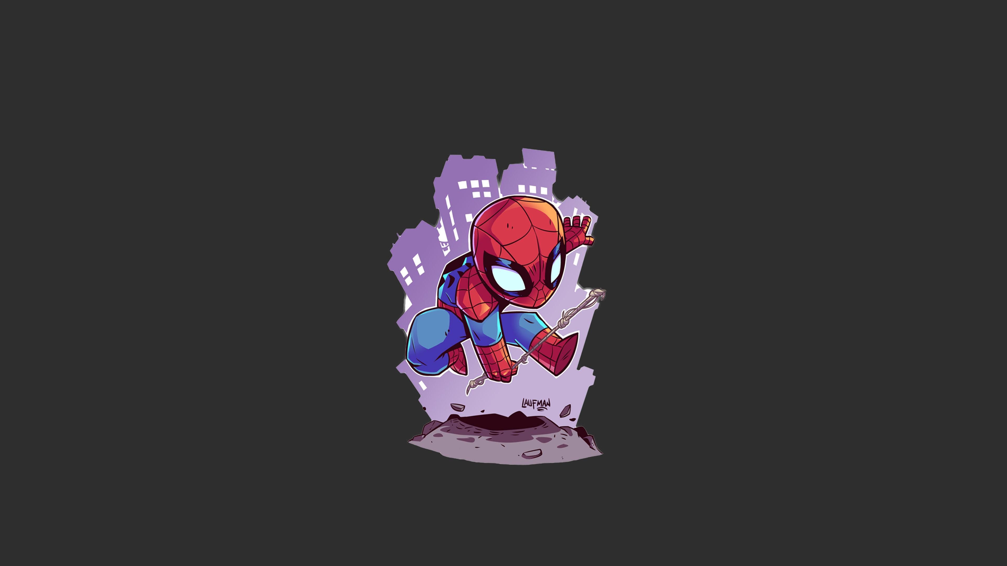 spiderman minimalism 4k 1540749008 - Spiderman Minimalism 4k - spiderman wallpapers, minimalism wallpapers, artist wallpapers