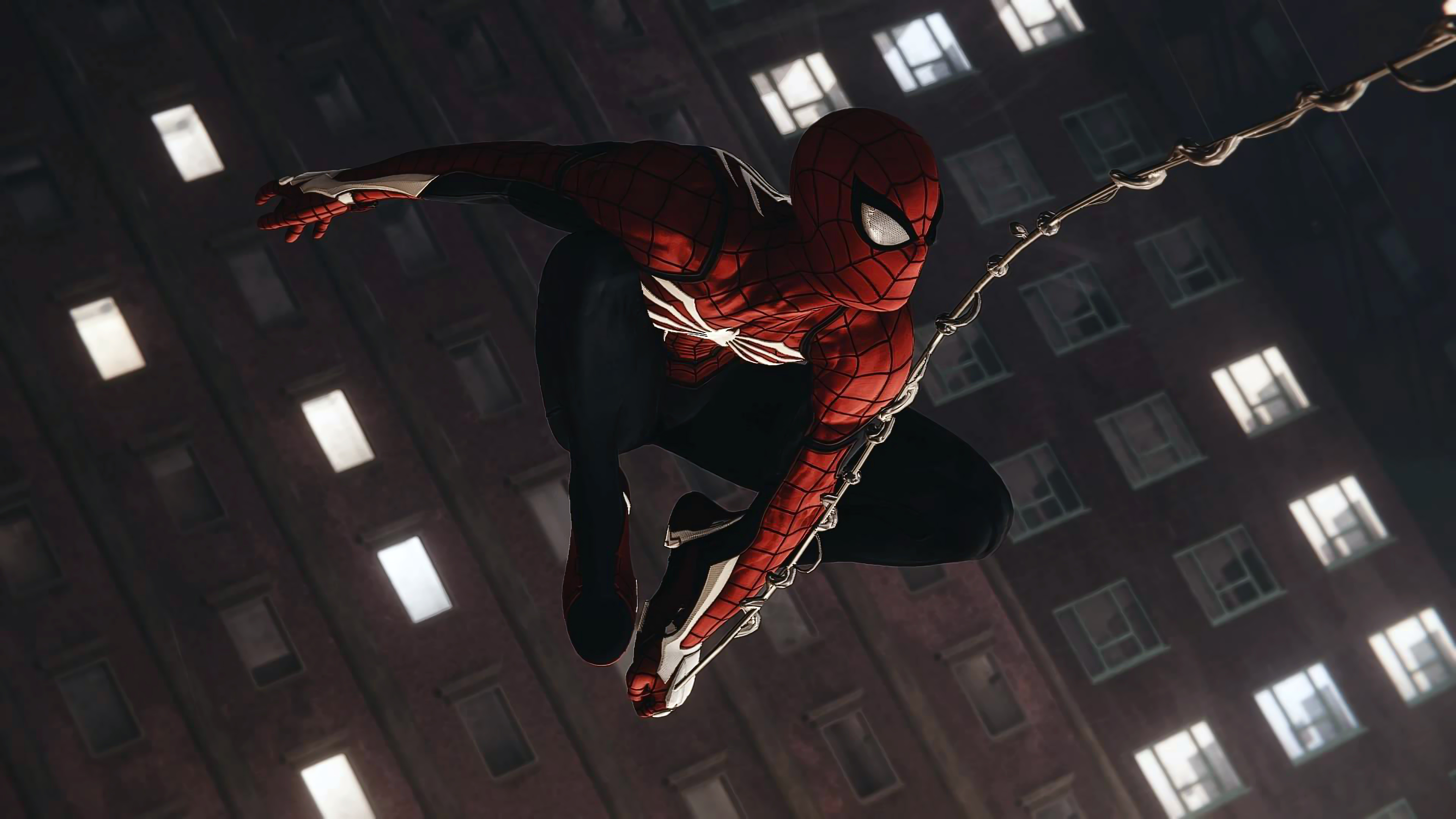 spiderman shooting spider web4k 1539452794 - Spiderman Shooting Spider Web4k - superheroes wallpapers, spiderman wallpapers, spiderman ps4 wallpapers, ps games wallpapers, hd-wallpapers, games wallpapers, 4k-wallpapers, 2018 games wallpapers