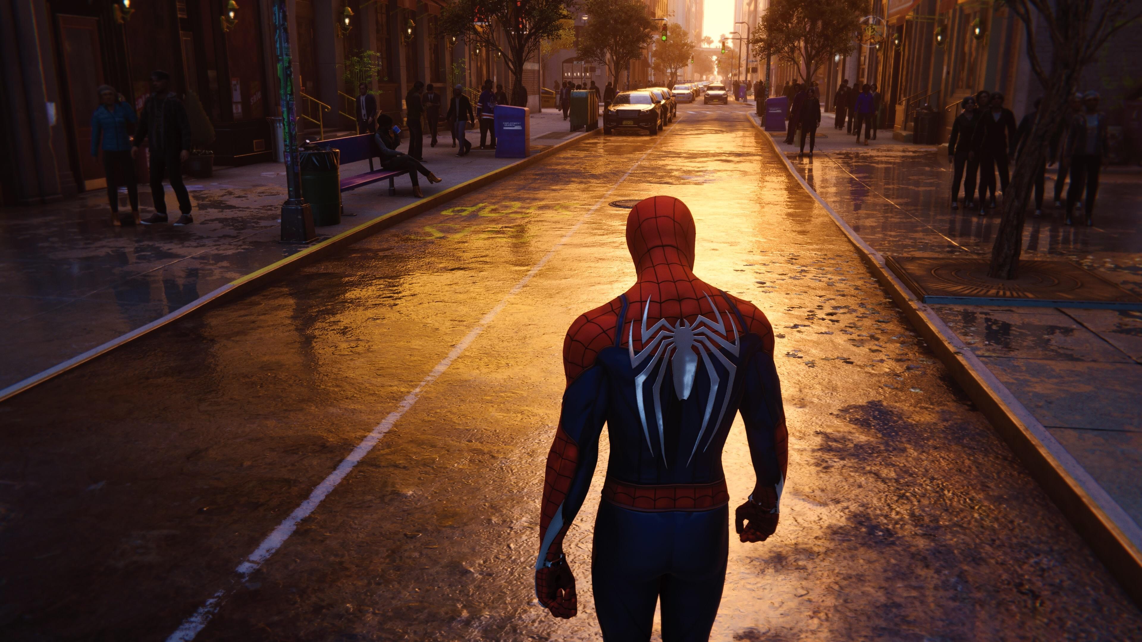 spiderman walking in nyc streets 1539978564 - Spiderman Walking In NYC Streets - superheroes wallpapers, spiderman wallpapers, hd-wallpapers, 4k-wallpapers