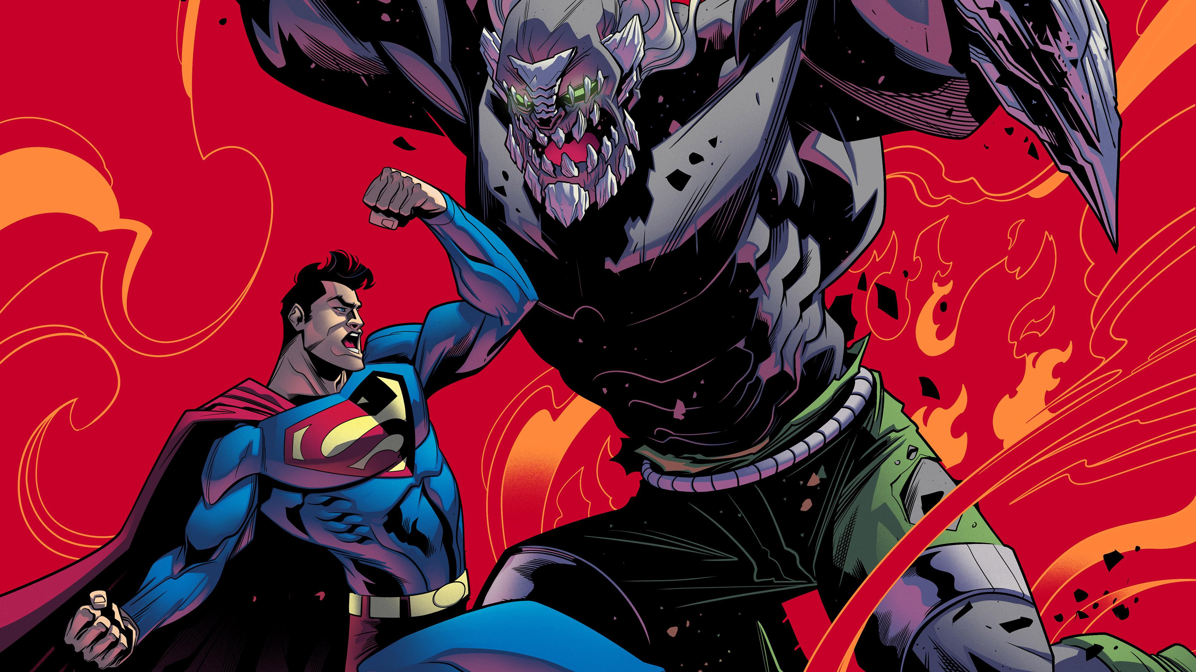 superman vs doomsday 4k 1539978567 - Superman Vs Doomsday 4k - superman wallpapers, superheroes wallpapers, hd-wallpapers, doomsday wallpapers, behance wallpapers, 4k-wallpapers