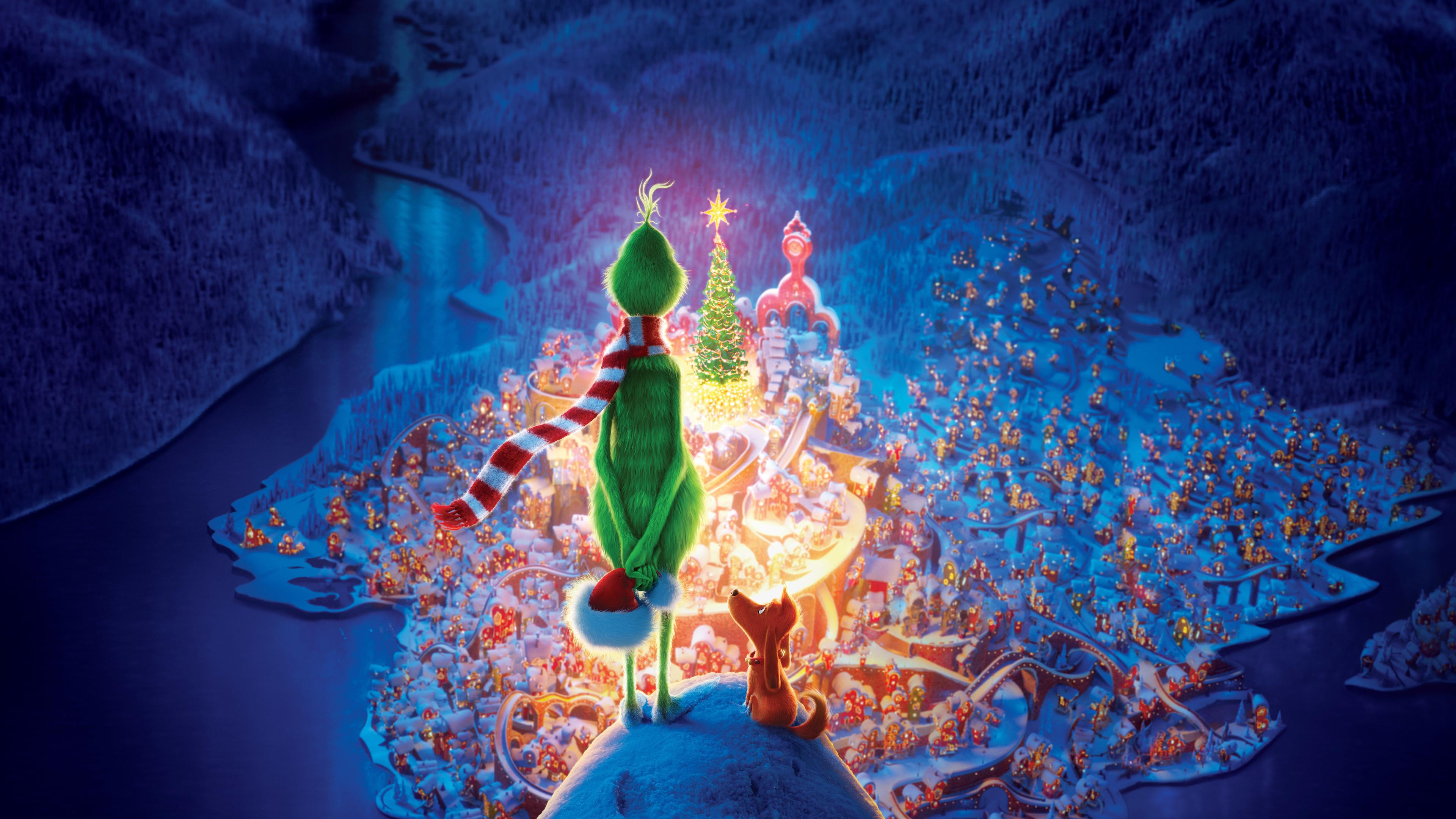 Fondos Para Pantallas De Grinch Para Navidad: The Grinch Movie 10k The Grinch Wallpapers, Movies