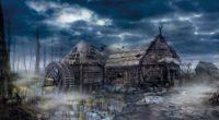 the witcher 3 wild hunt village house art 4k 1538944988 200x110 - the witcher 3, wild hunt, village, house, art 4k - wild hunt, village, the witcher 3