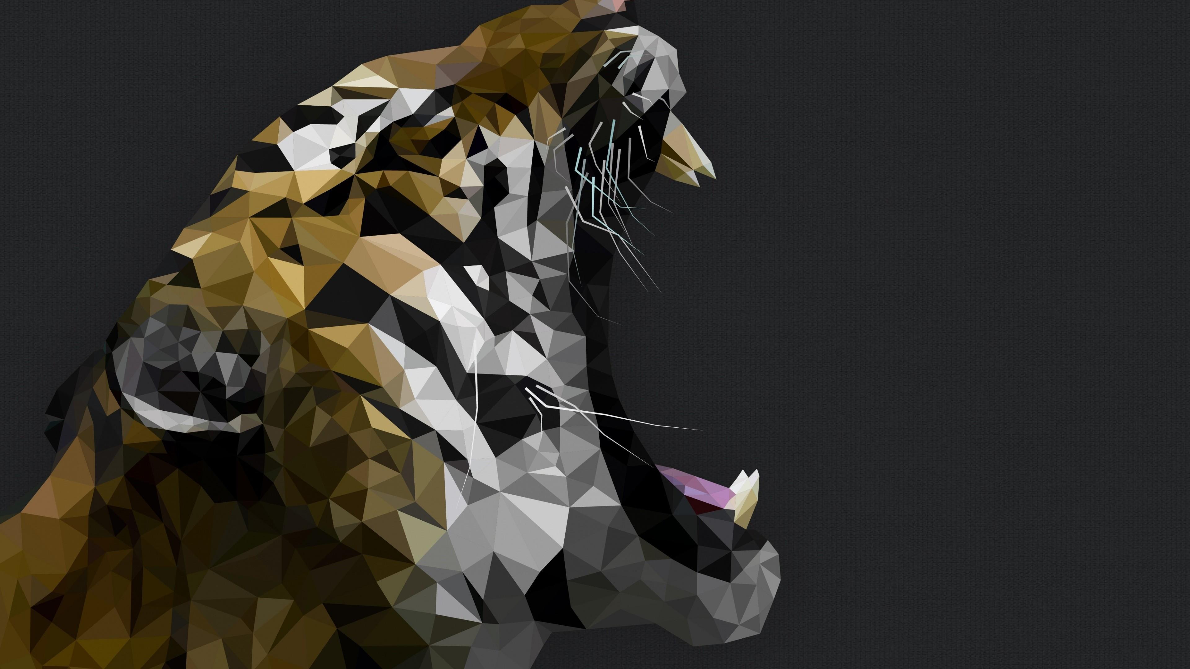 tiger digital art 1540748185 - Tiger Digital Art - tiger wallpapers, digital art wallpapers, artist wallpapers, animals wallpapers