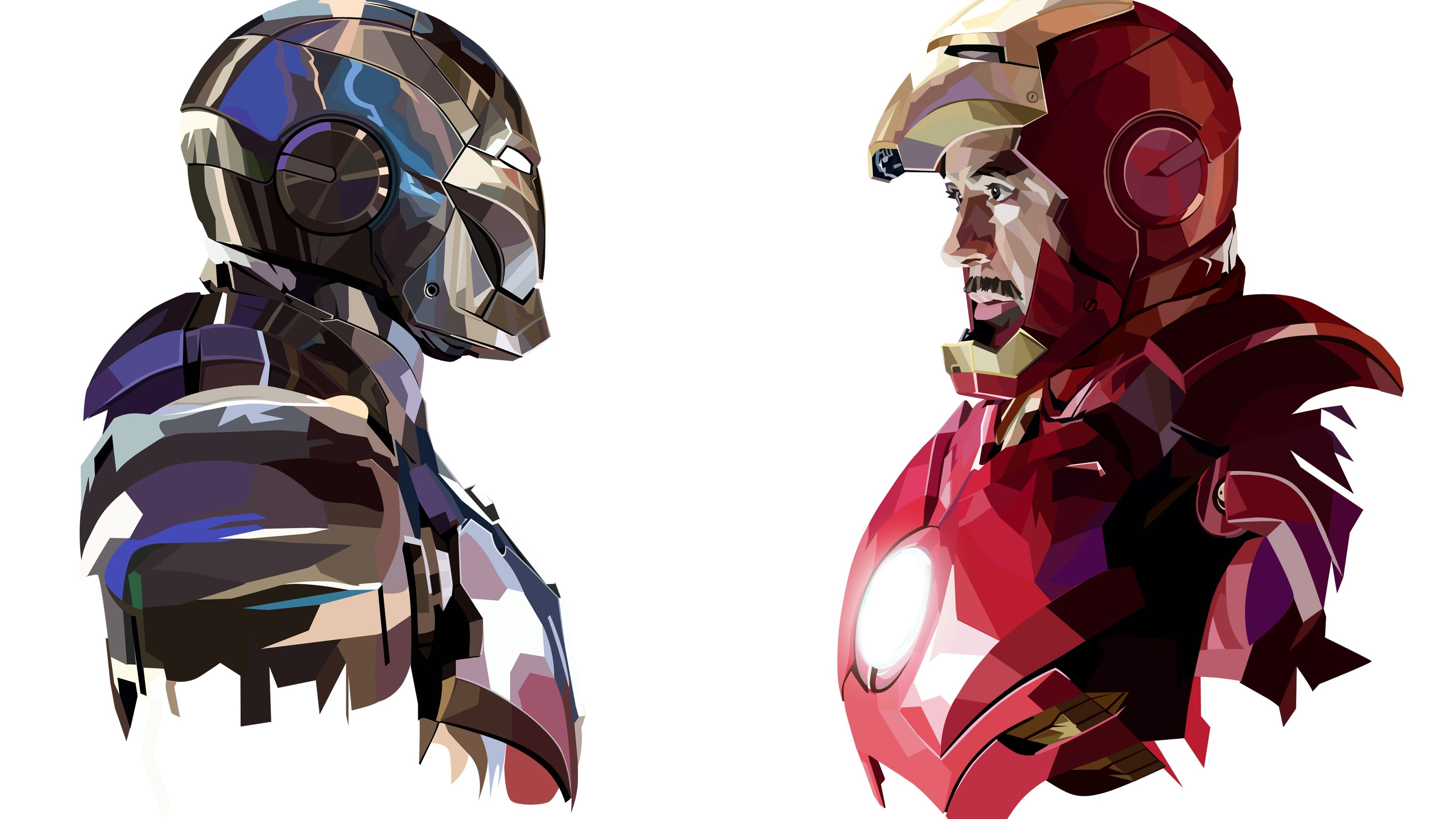 tony stark iron man art 4k 1540748636 - Tony Stark Iron Man Art 4k - iron man wallpapers, digital art wallpapers, artist wallpapers