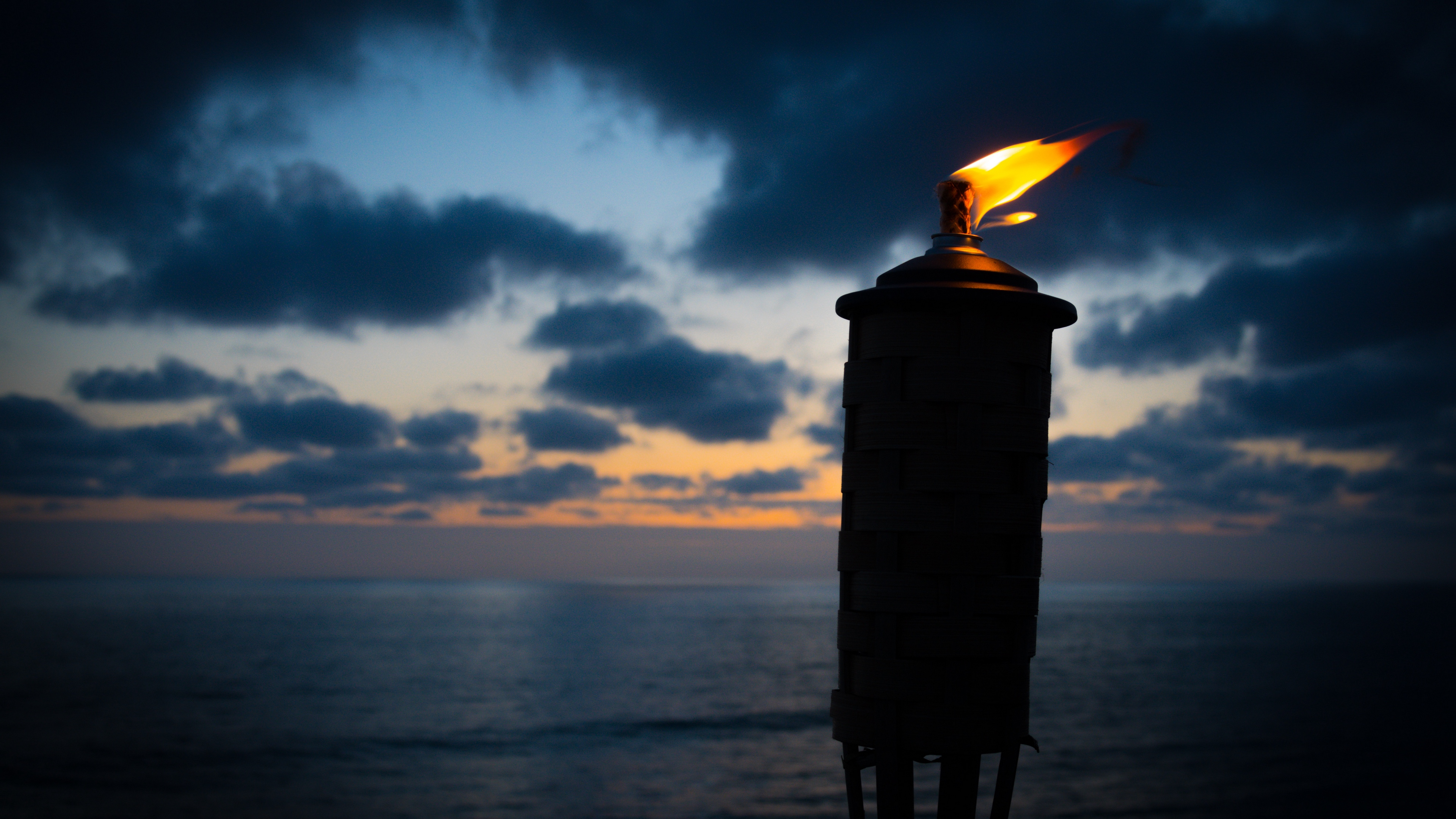 torch fire wick night 4k 1540575057 - torch, fire, wick, night 4k - wick, torch, Fire