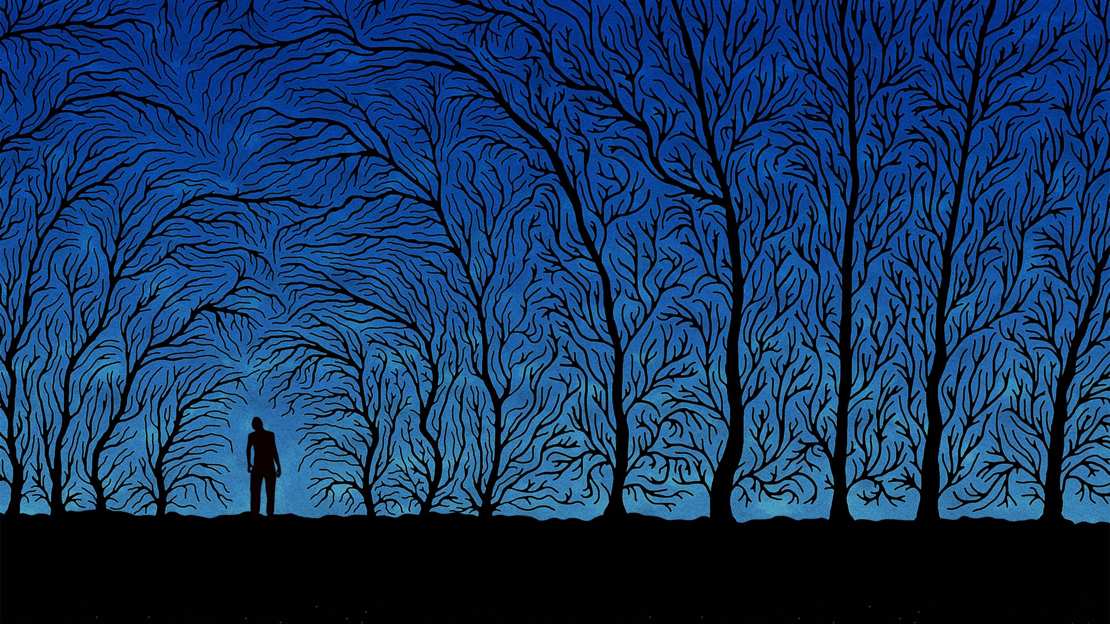 trees art 4k 1540748390 - Trees Art 4k - vector wallpapers, trees wallpapers, digital art wallpapers, artist wallpapers, art wallpapers