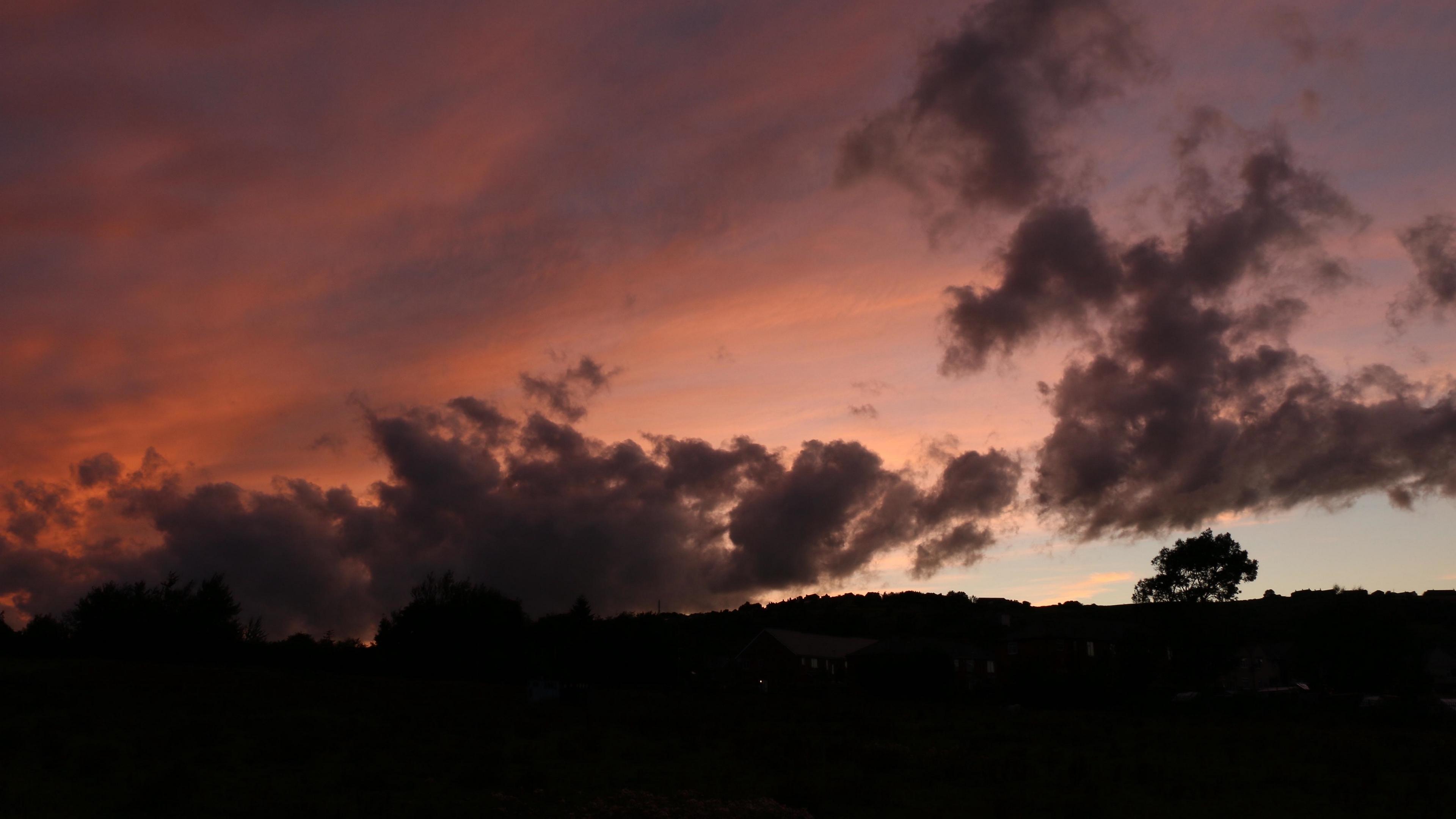 twilight sunset clouds 4k 1540575991 - twilight, sunset, clouds 4k - Twilight, sunset, Clouds