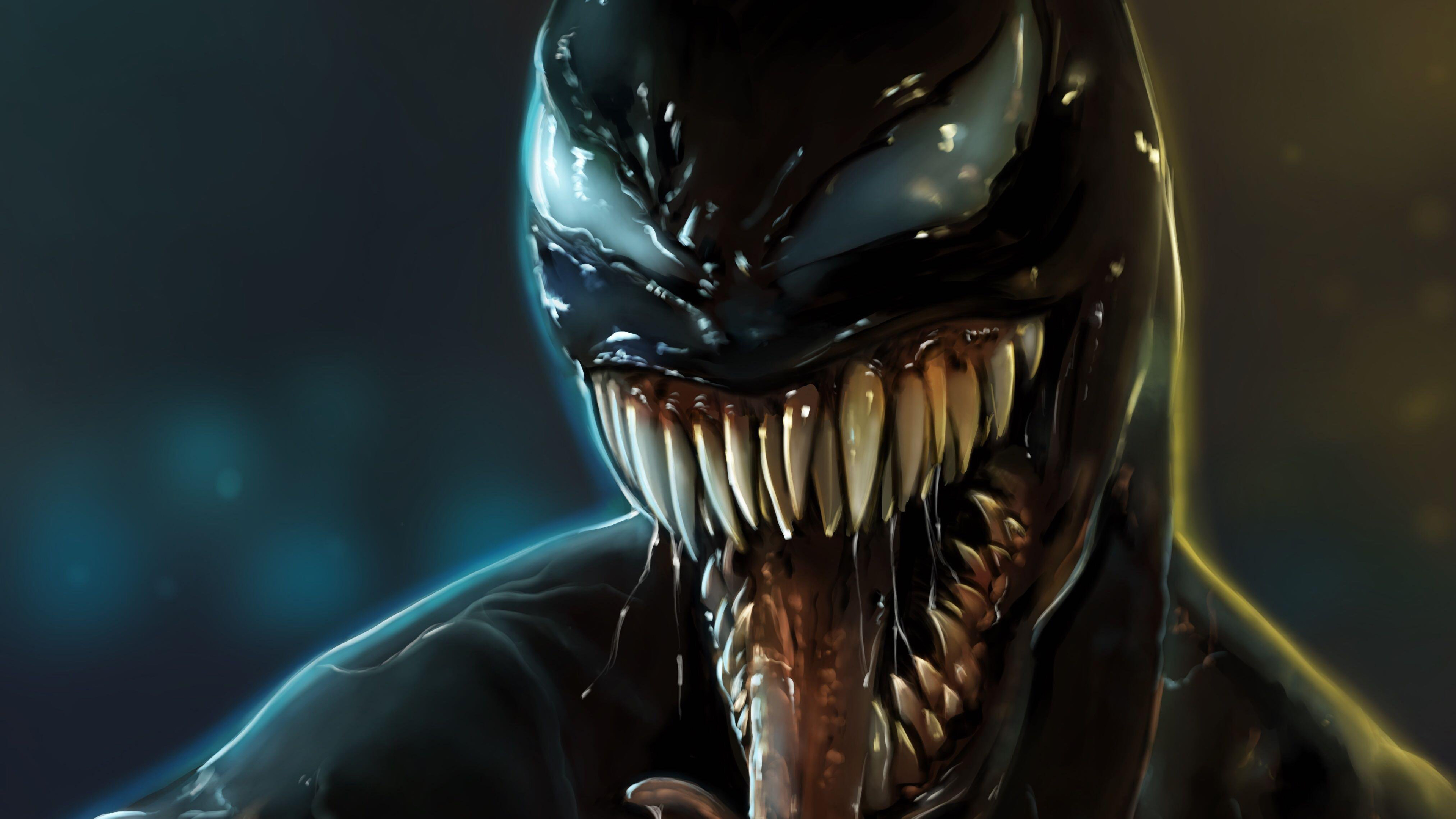 Venom 4k Digital Arts Venom wallpapers, supervillain ...