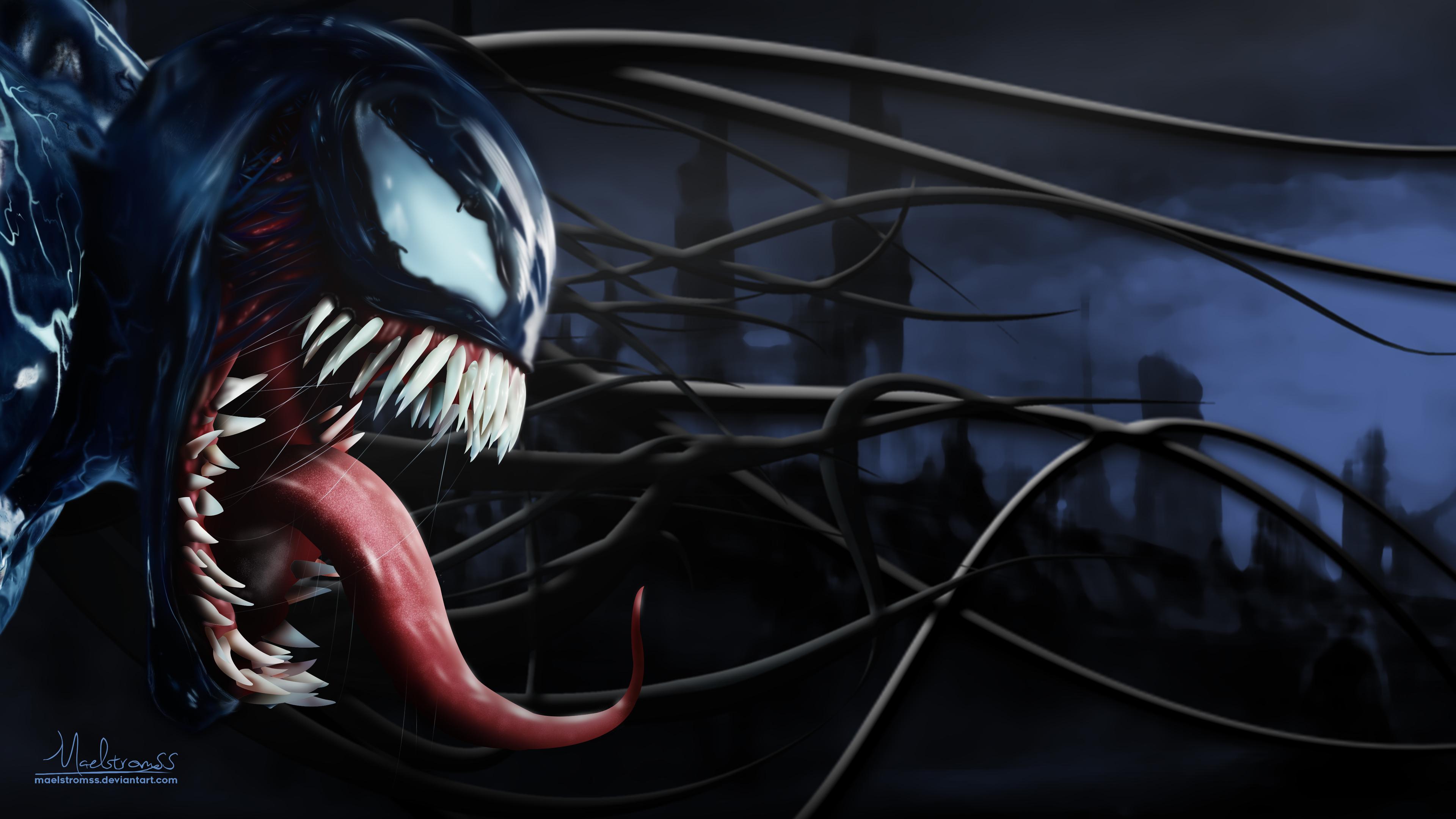 venom 5k artworks 1538786546 - Venom 5k Artworks - Venom wallpapers, venom movie wallpapers, movies wallpapers, hd-wallpapers, deviantart wallpapers, artwork wallpapers, artist wallpapers, 5k wallpapers, 4k-wallpapers, 2018-movies-wallpapers