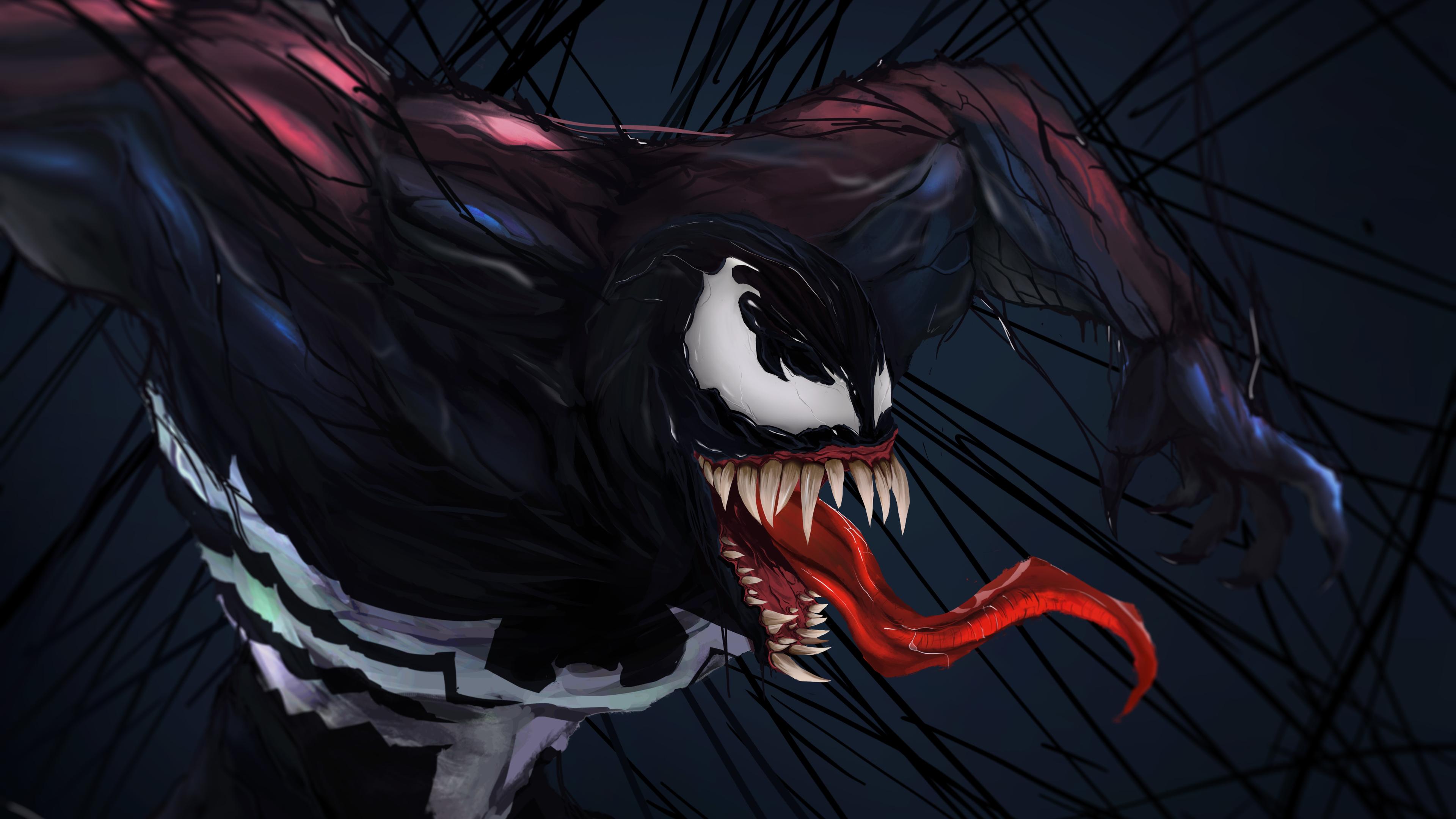2048x2048 Venom 2018 Movie 4k Ipad Air Hd 4k Wallpapers: Venom Digital Art 5k Venom Wallpapers, Superheroes