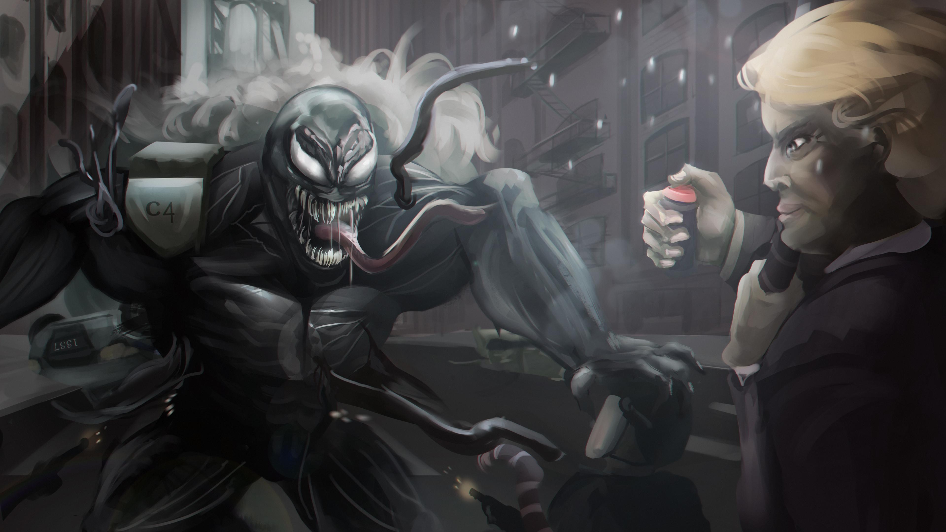 venom digital artwork 5k 1539452763 - Venom Digital Artwork 5k - Venom wallpapers, venom movie wallpapers, superheroes wallpapers, hd-wallpapers, digital art wallpapers, deviantart wallpapers, artwork wallpapers, 5k wallpapers, 4k-wallpapers