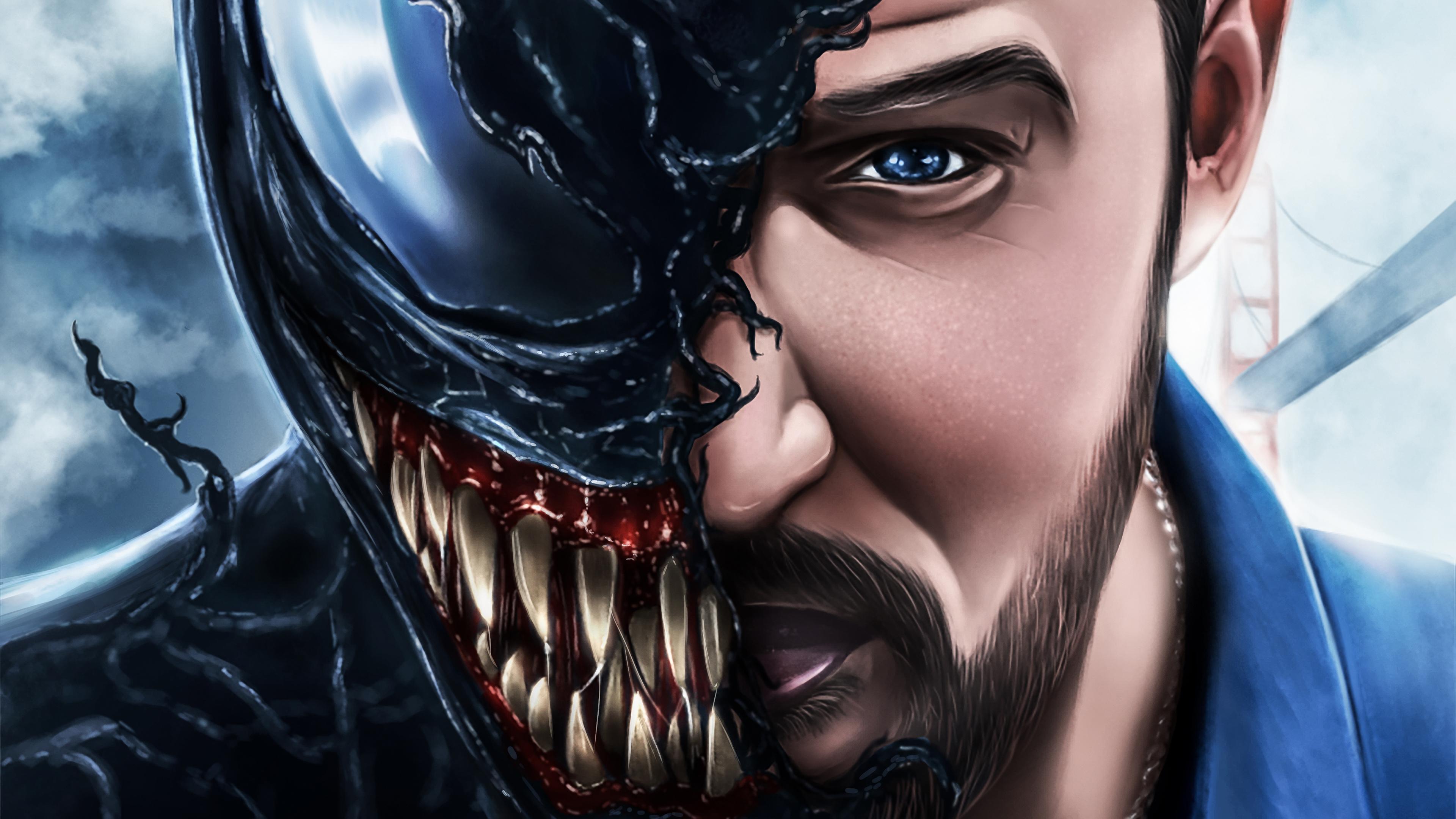 venom movie artwork 4k 2018 1538786564 - Venom Movie Artwork 4k 2018 - Venom wallpapers, venom movie wallpapers, superheroes wallpapers, hd-wallpapers, digital art wallpapers, deviantart wallpapers, artwork wallpapers, 4k-wallpapers