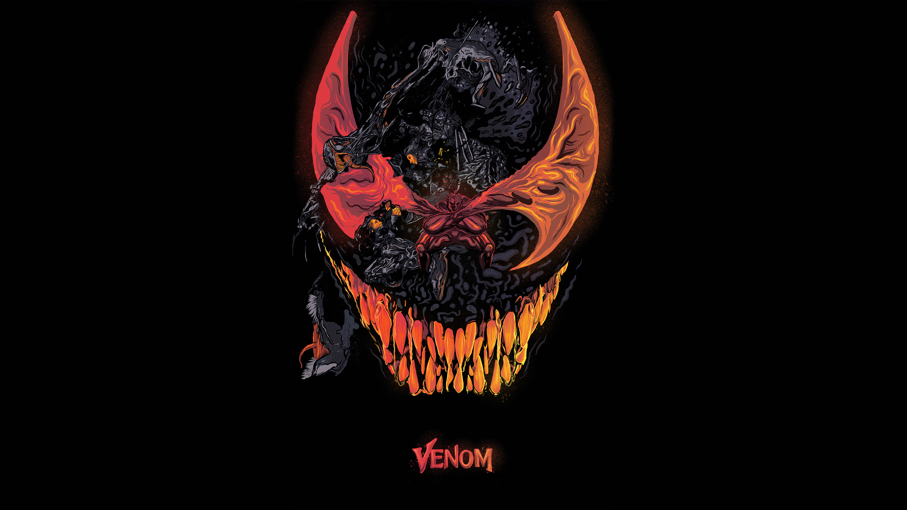 venom movie artworks 4k 1539452757 - Venom Movie Artworks 4k - Venom wallpapers, venom movie wallpapers, superheroes wallpapers, movies wallpapers, hd-wallpapers, digital art wallpapers, behance wallpapers, artwork wallpapers, artist wallpapers, 4k-wallpapers, 2018-movies-wallpapers