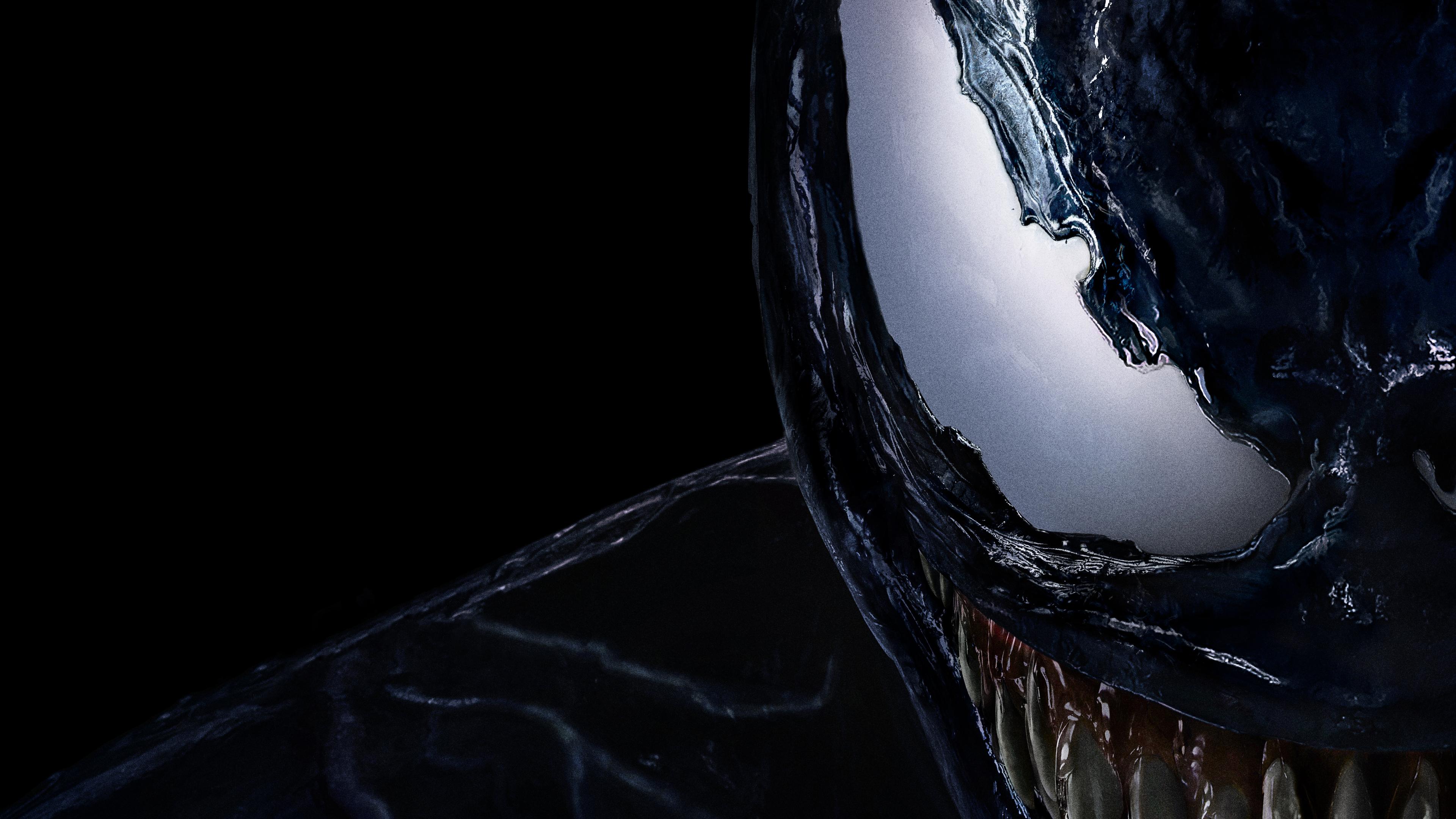Wallpaper 4k Venom Movie Official Poster 8k 2018 Movies Wallpapers