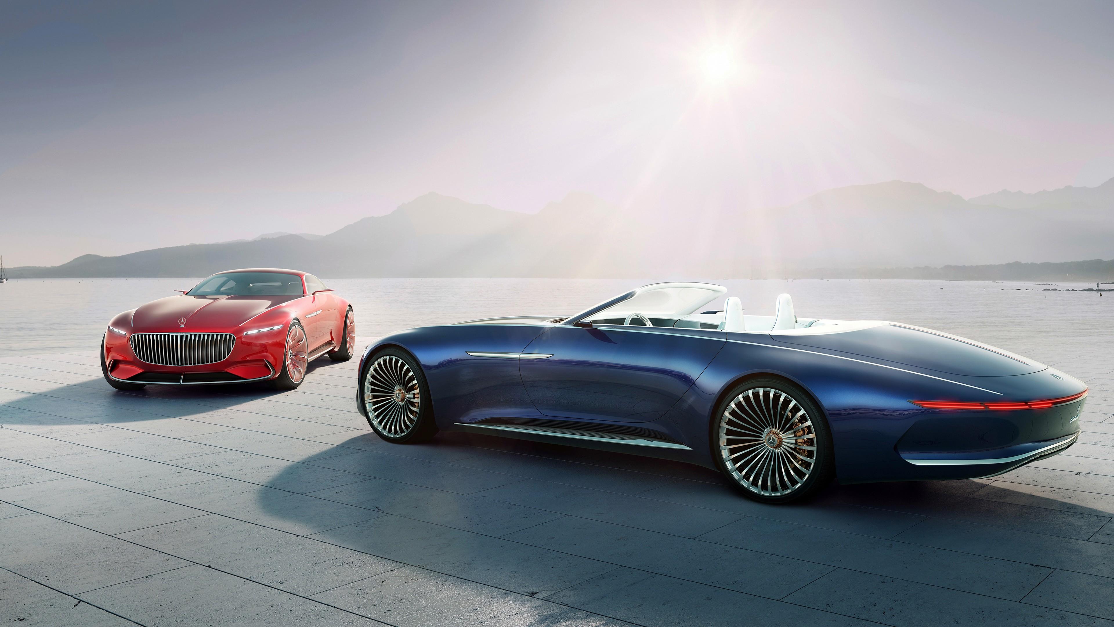 Wallpaper 4k Vision Mercedes Maybach 4k 2017 Cars Wallpapers