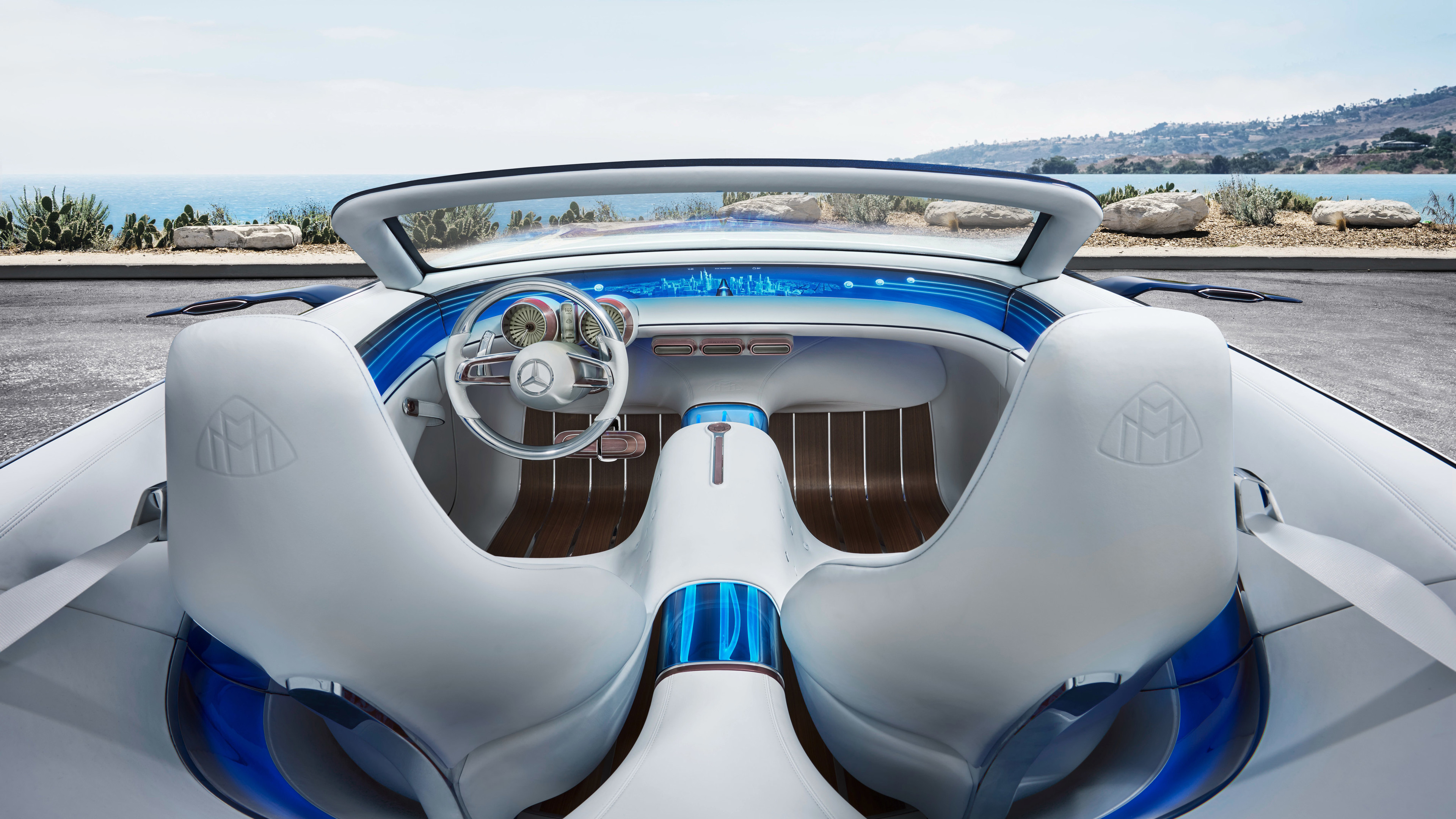vision mercedes maybach 6 cabriolet interior 1539106973 - Vision Mercedes Maybach 6 Cabriolet Interior - mercedes wallpapers, mercedes maybach wallpapers, hd-wallpapers, electric cars wallpapers, concept cars wallpapers, cars wallpapers, 4k-wallpapers, 2017 cars wallpapers