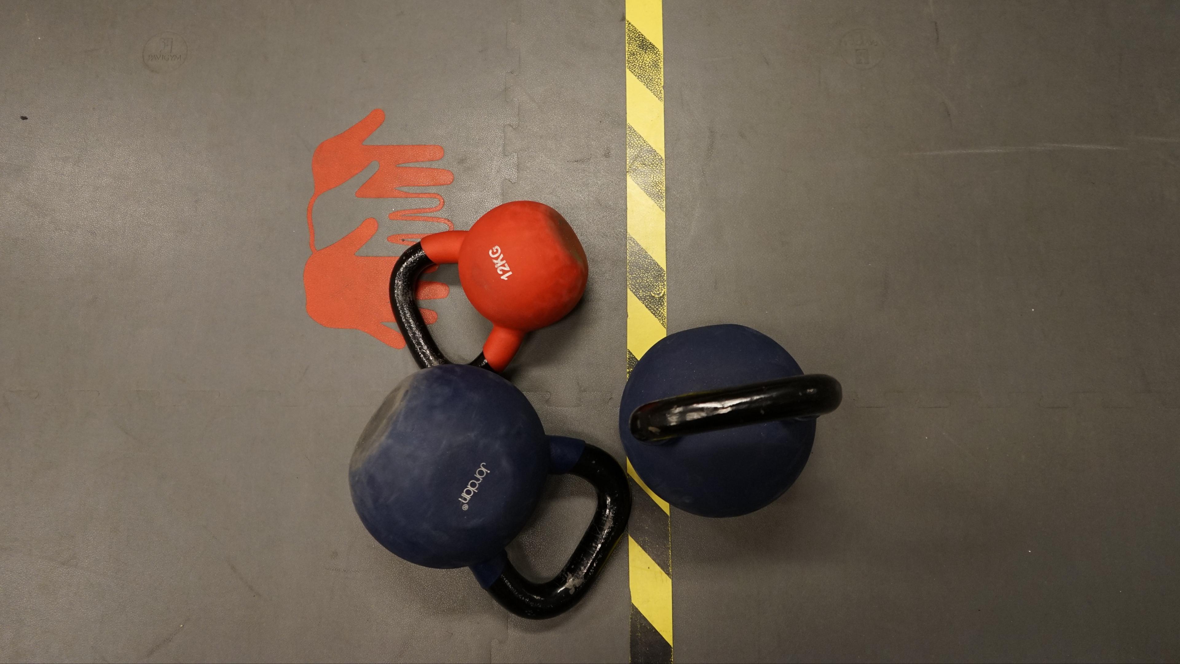 weights paint sport 4k 1540063079 - weights, paint, sport 4k - weights, Sport, Paint