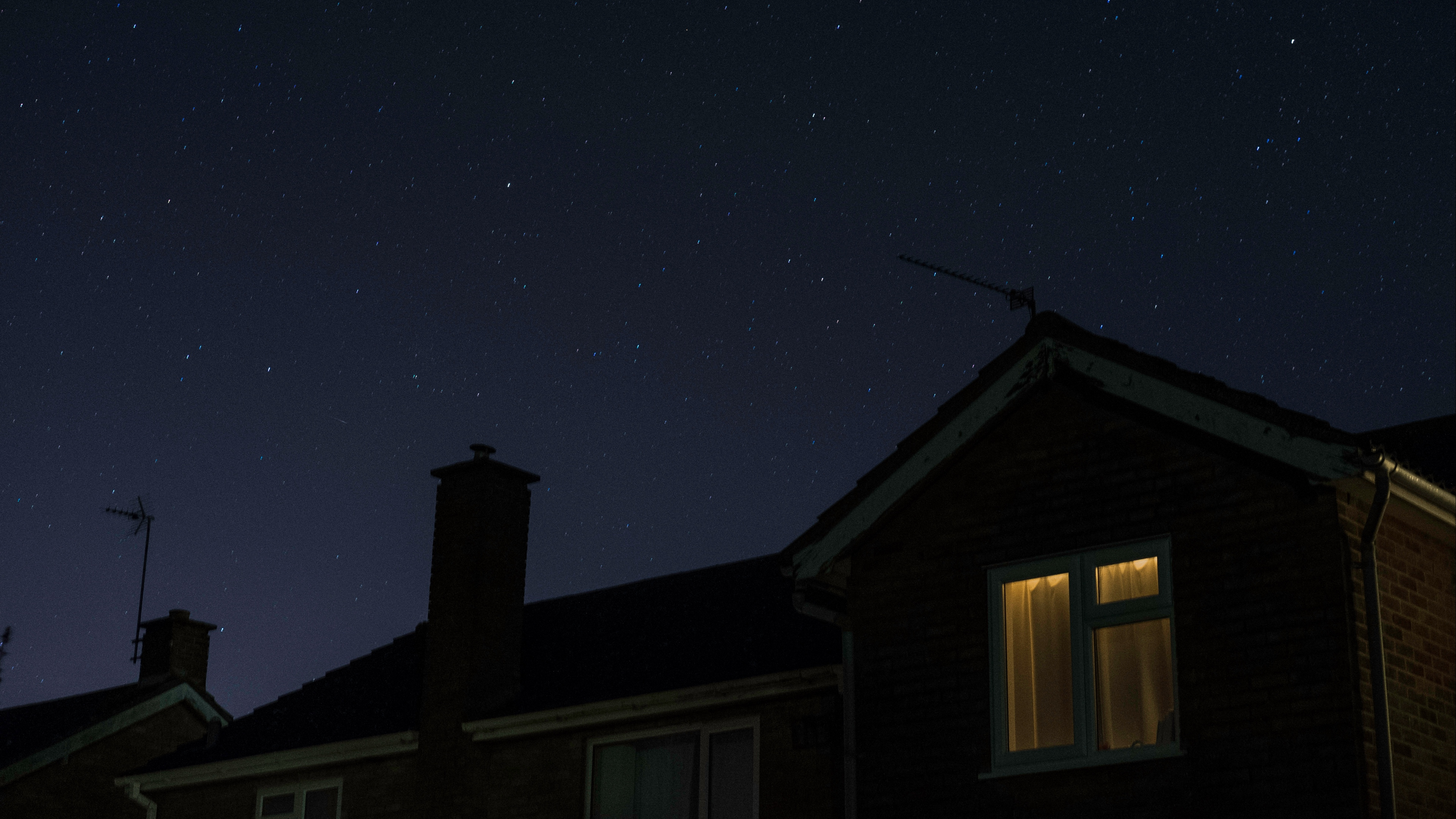 window starry sky night 4k 1540574867 - window, starry sky, night 4k - Window, starry sky, Night
