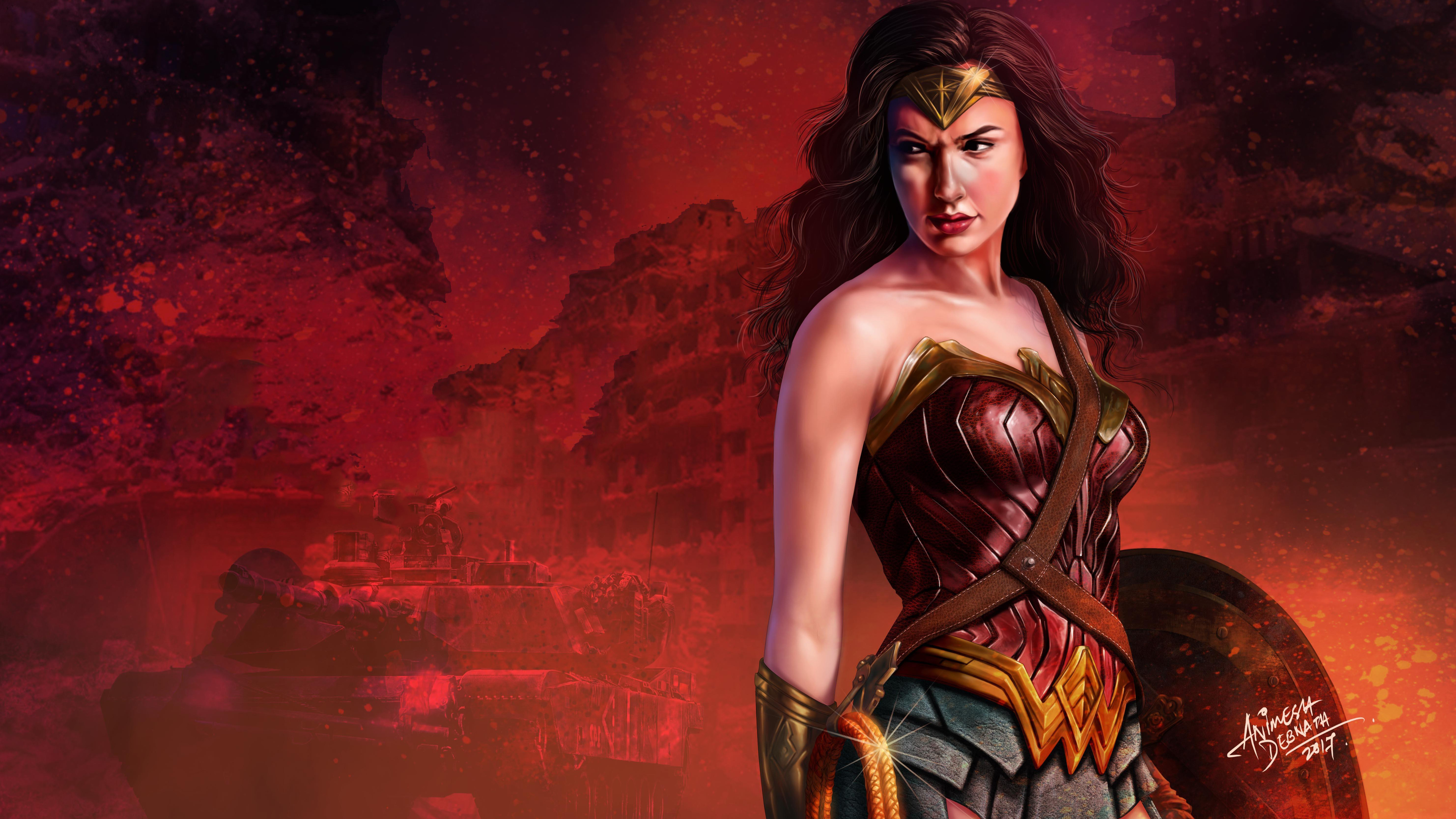 wonder woman 5k gal gadot art 1539452743 - Wonder Woman 5k Gal Gadot Art - wonder woman wallpapers, superheroes wallpapers, hd-wallpapers, digital art wallpapers, diana prince wallpapers, dc comics wallpapers, comic wallpapers, artwork wallpapers, artist wallpapers, 5k wallpapers, 4k-wallpapers