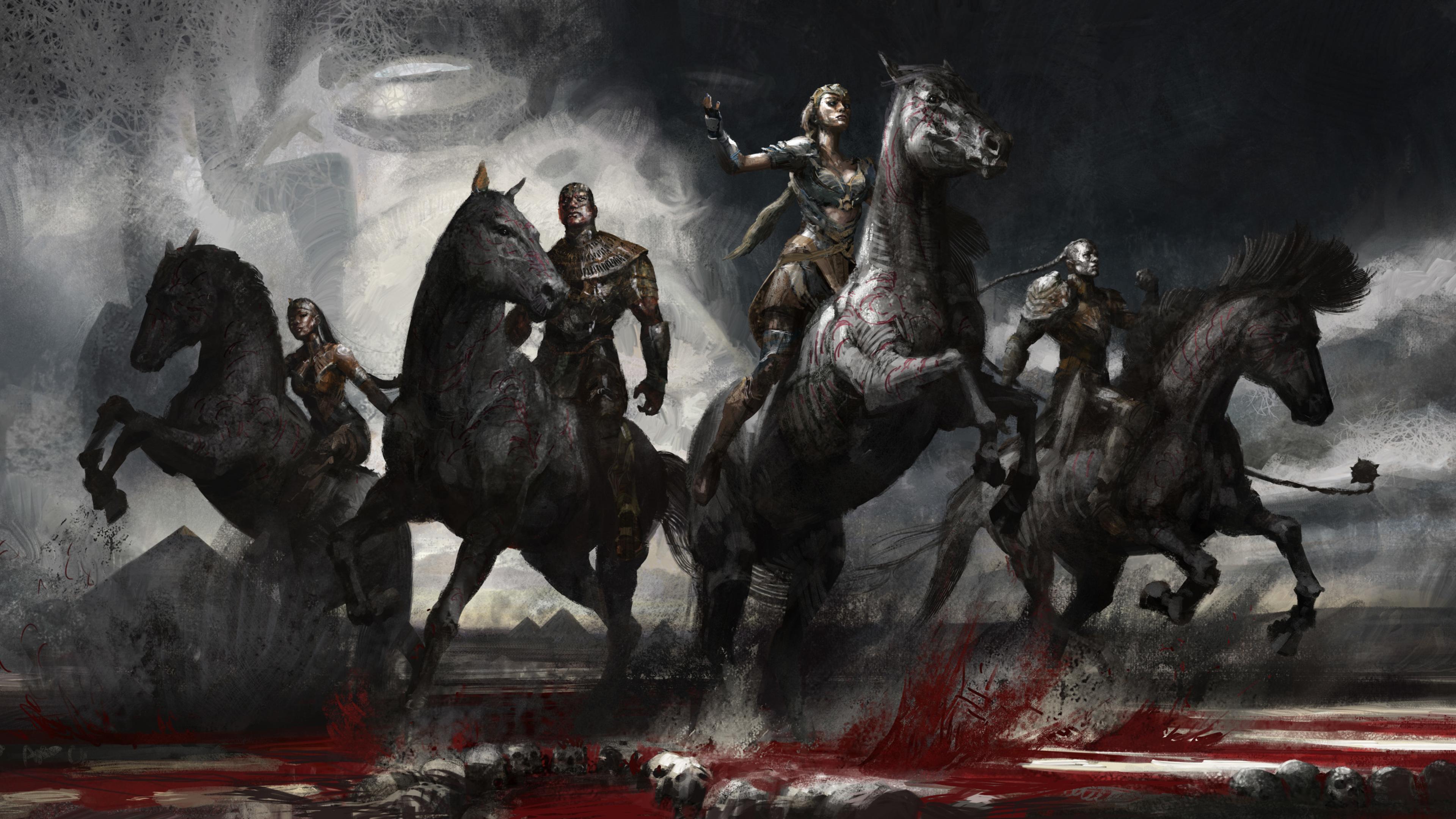 Wallpaper 4k X Men Apocalypse Ancient Horsemen 4k 4k Wallpapers