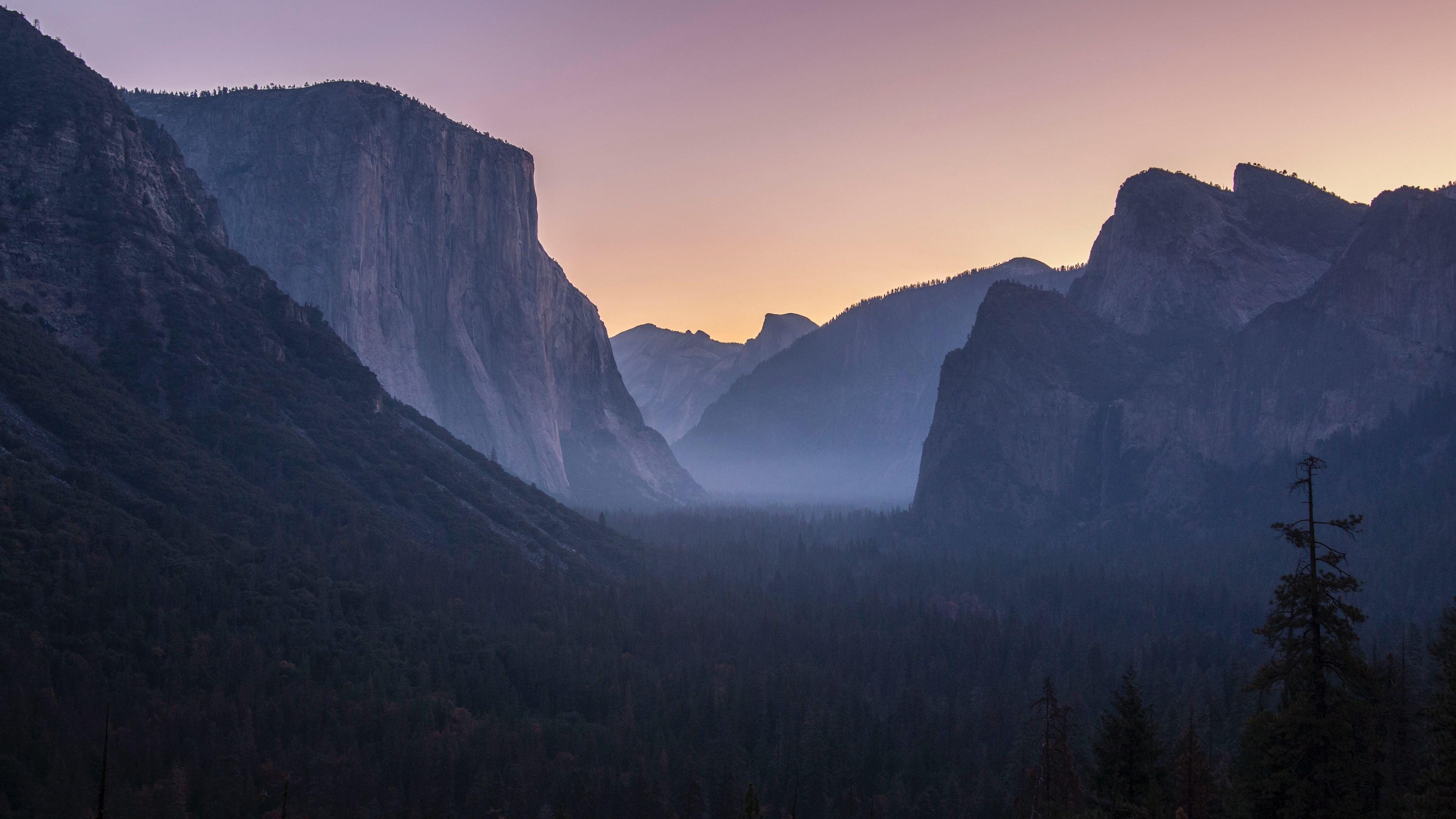 Wallpaper 4k Yosemite National Park 4k 4k Wallpapers 5k
