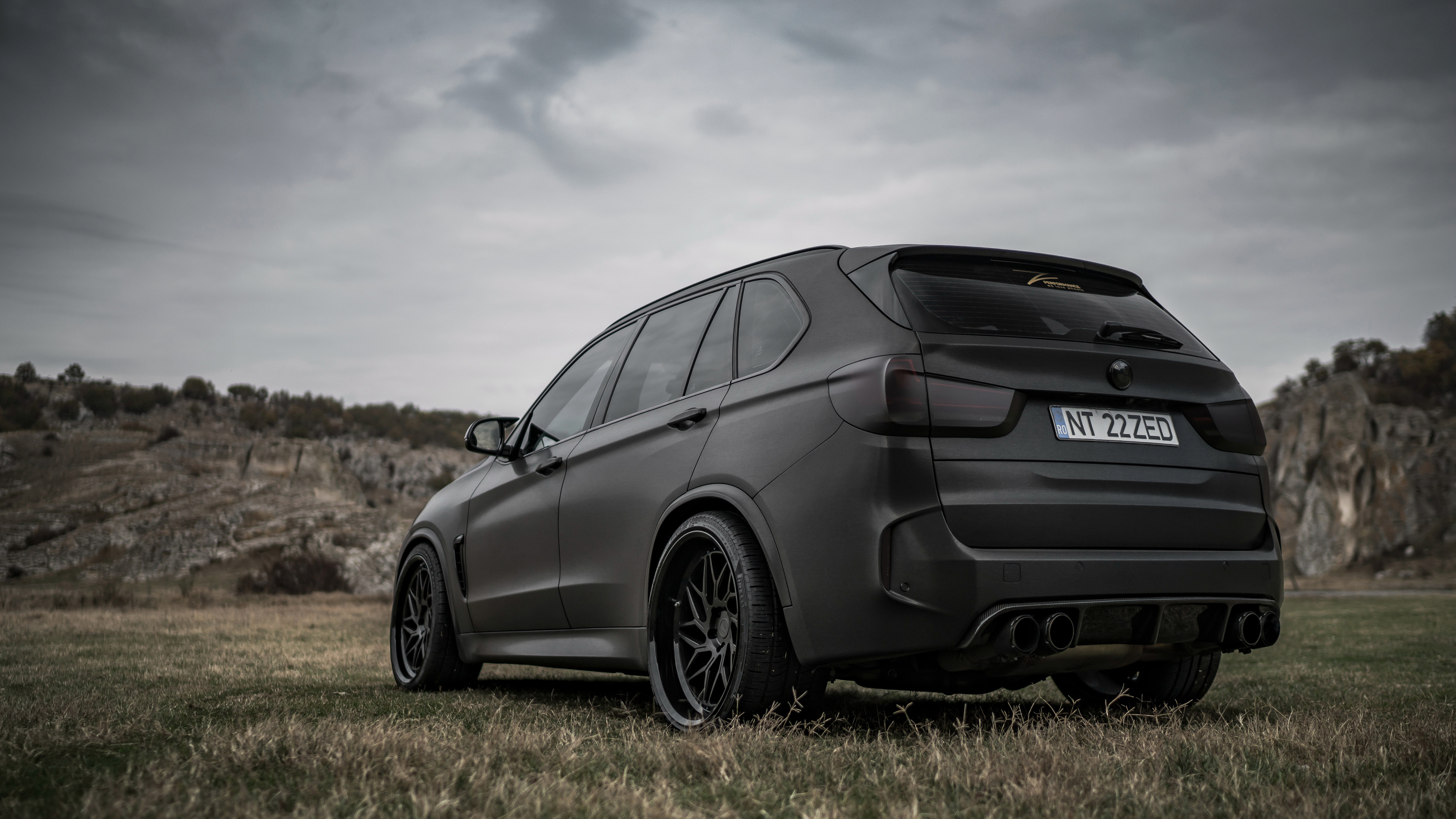 z performance bmw x5 black matte rear 1539109212 - Z Performance BMW X5 Black Matte Rear - hd-wallpapers, cars wallpapers, bmw x5 wallpapers, bmw wallpapers, 4k-wallpapers, 2018 cars wallpapers