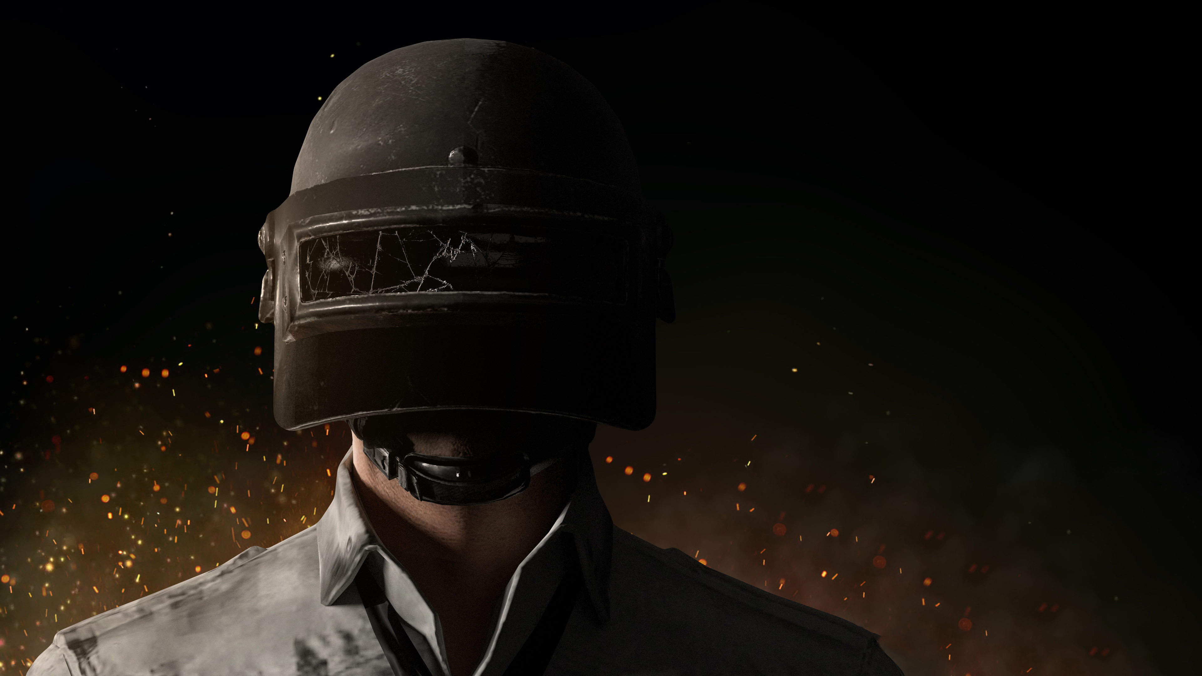 Pubg Wallpaper Dual Monitor: Player Unknown's Battlegrounds (PUBG) 4K Helmetguy Pubg