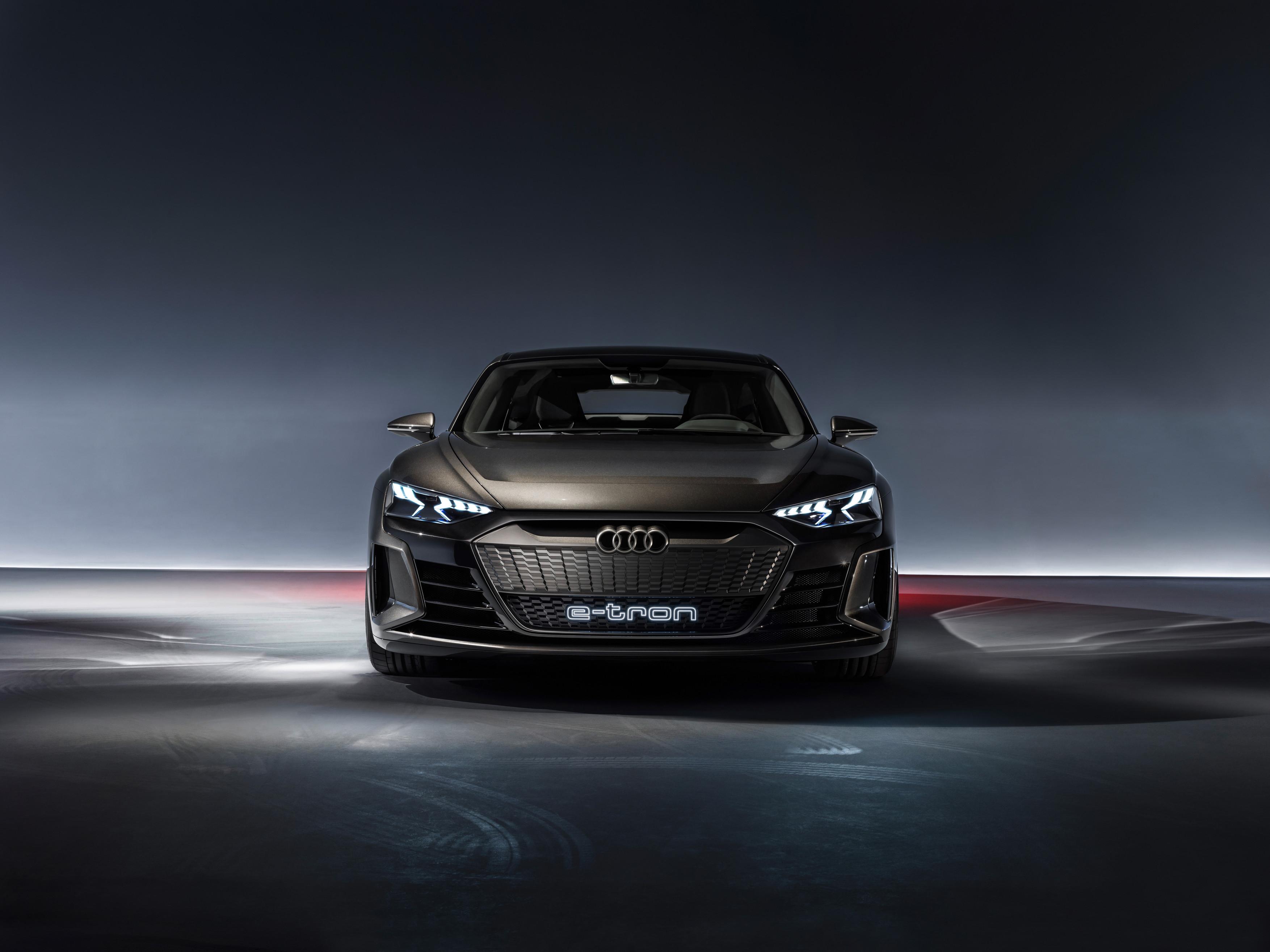 A1814532 medium - Audi E-tron GT concept front view 4k - audi wallpapers etron hd 4k 2019, Audi E-tron front view hd 4k 2019