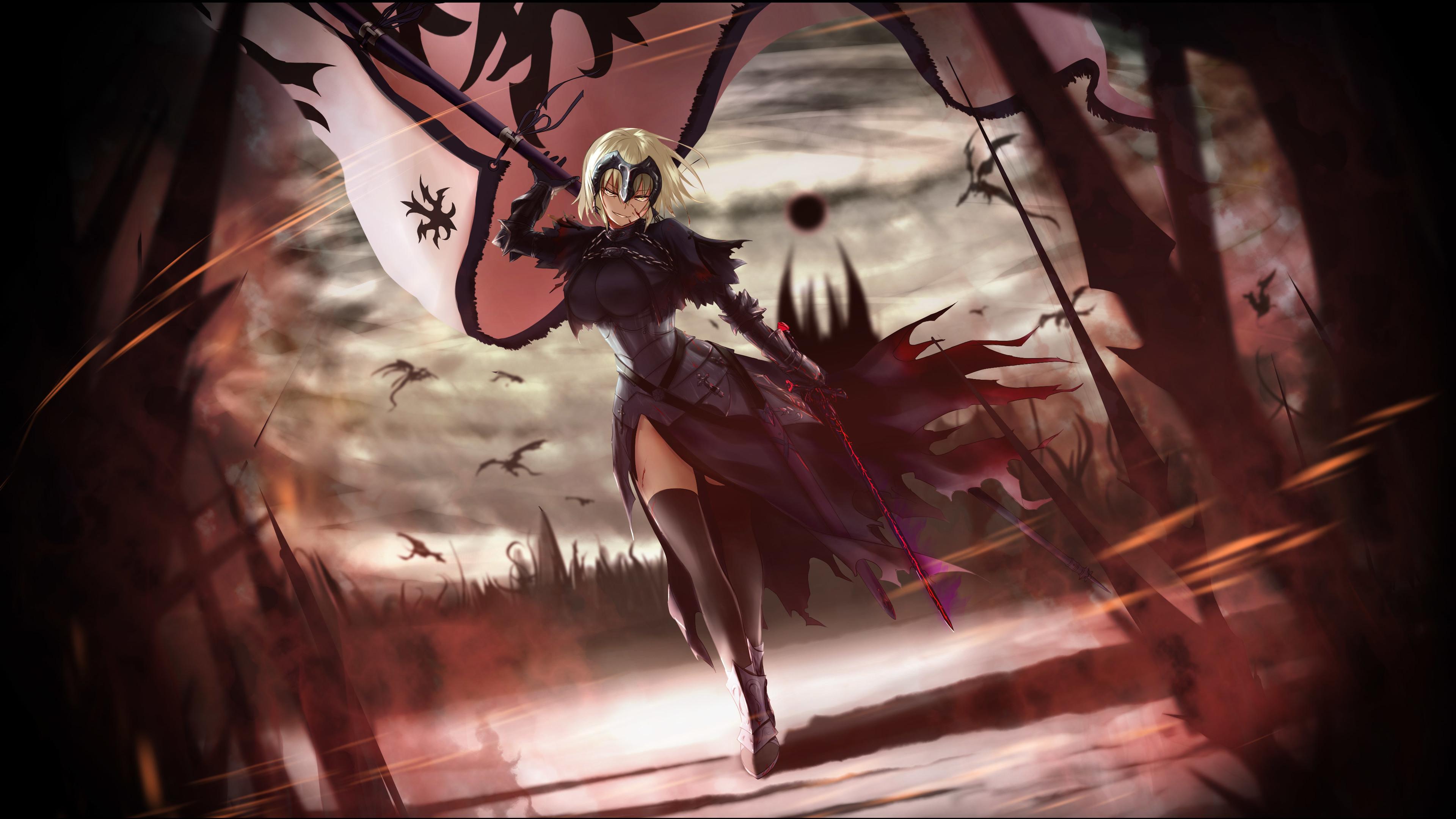 Wallpaper 4k Anime Fate Grand Order 4k 4k Wallpapers Anime Girl