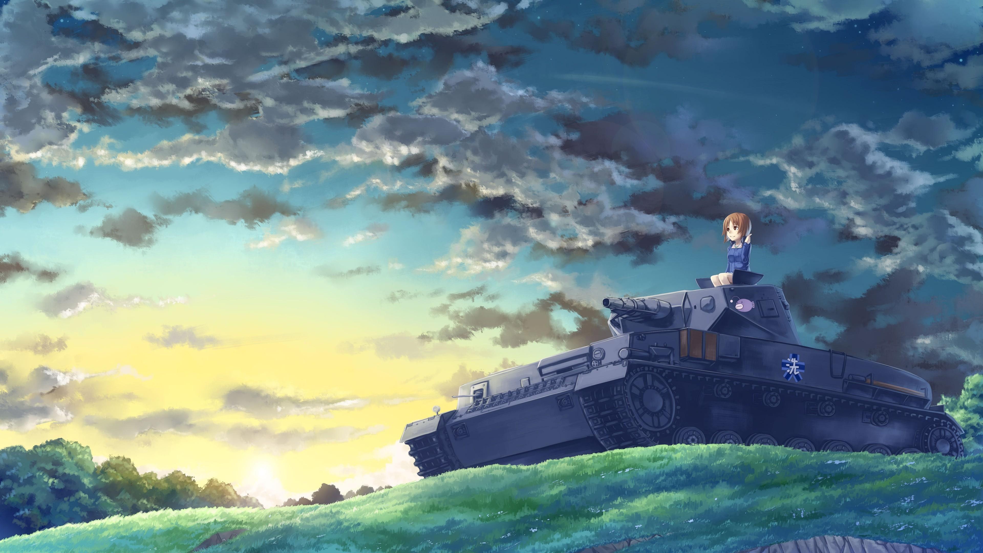 anime girl panzer 1541973547 - Anime Girl Panzer - anime wallpapers, anime girl wallpapers