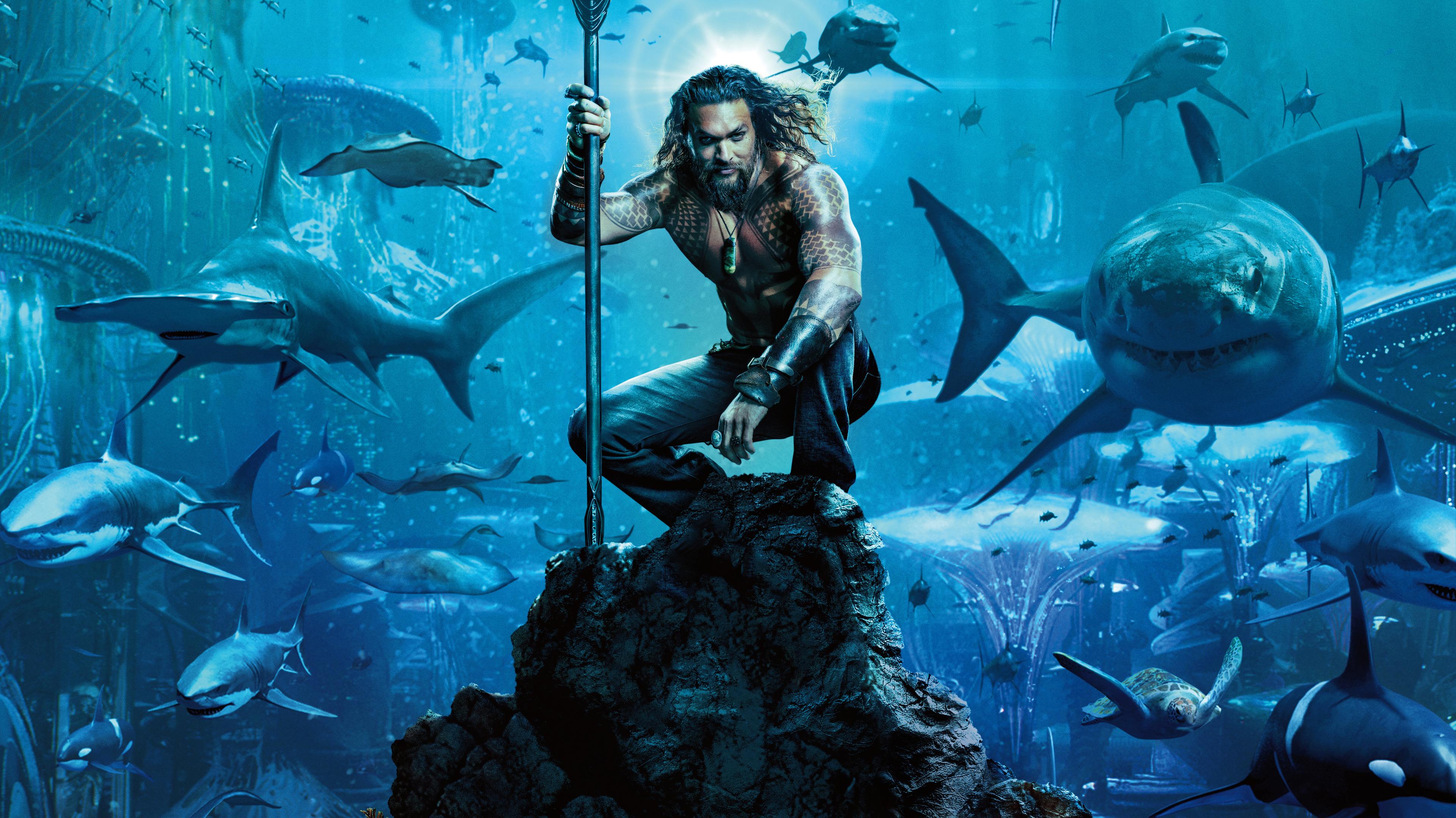 aquaman movie 4k 1541969689 - Aquaman Movie 4k - poster wallpapers, movies wallpapers, jason momoa wallpapers, hd-wallpapers, aquaman wallpapers, aquaman movie wallpapers, 4k-wallpapers, 2018-movies-wallpapers