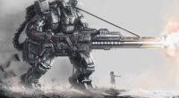 art osama robot giant guns silhouette girl 4k 1541976044 200x110 - art, osama, robot, giant, guns, silhouette, girl 4k - Robot, osama, art